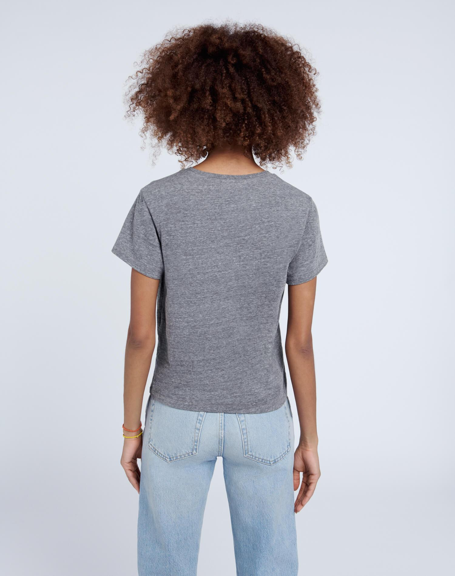 Recycled Classic Tee - Heather Grey 3