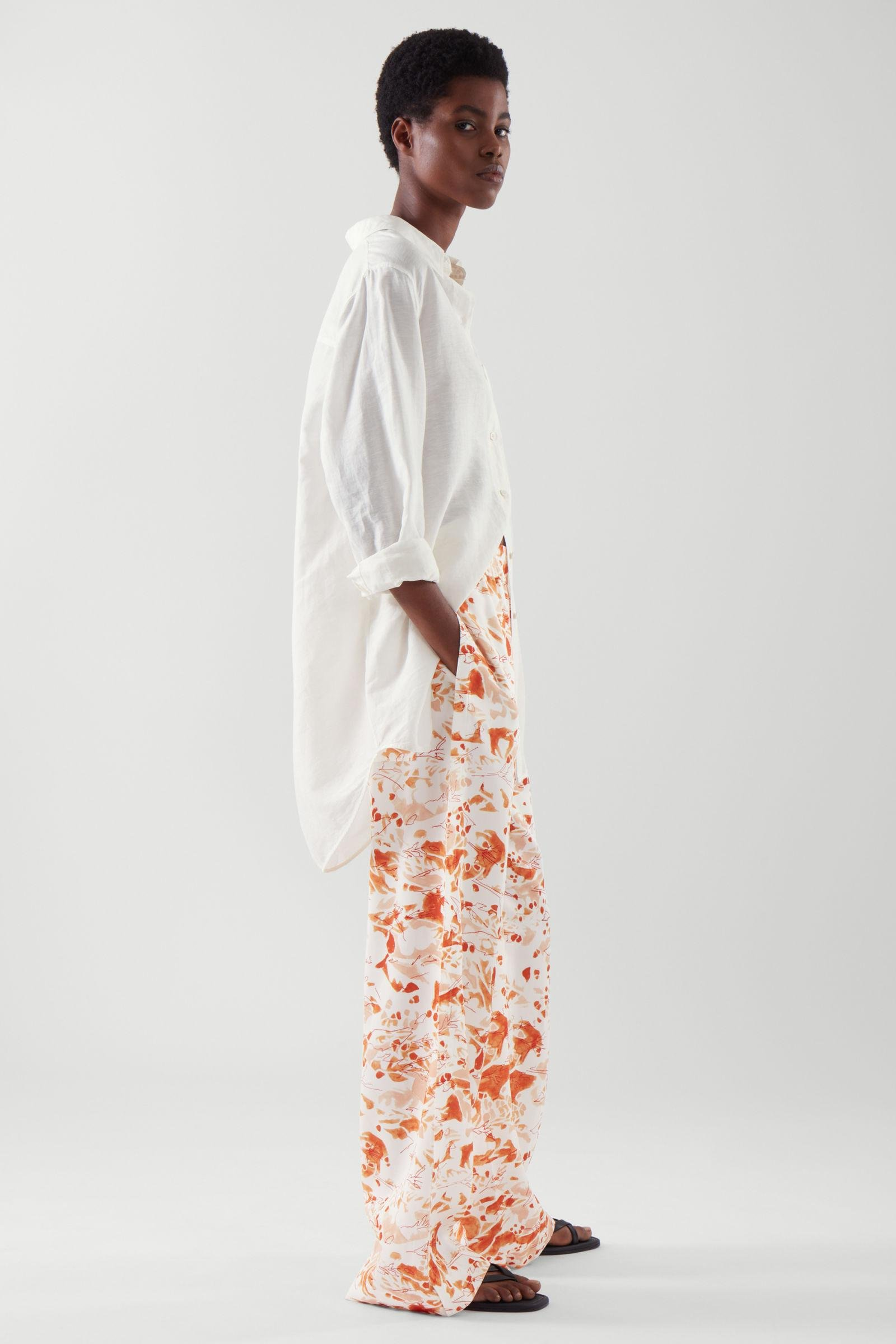 ELASTICATED RELAXED-LEG TROUSERS 3