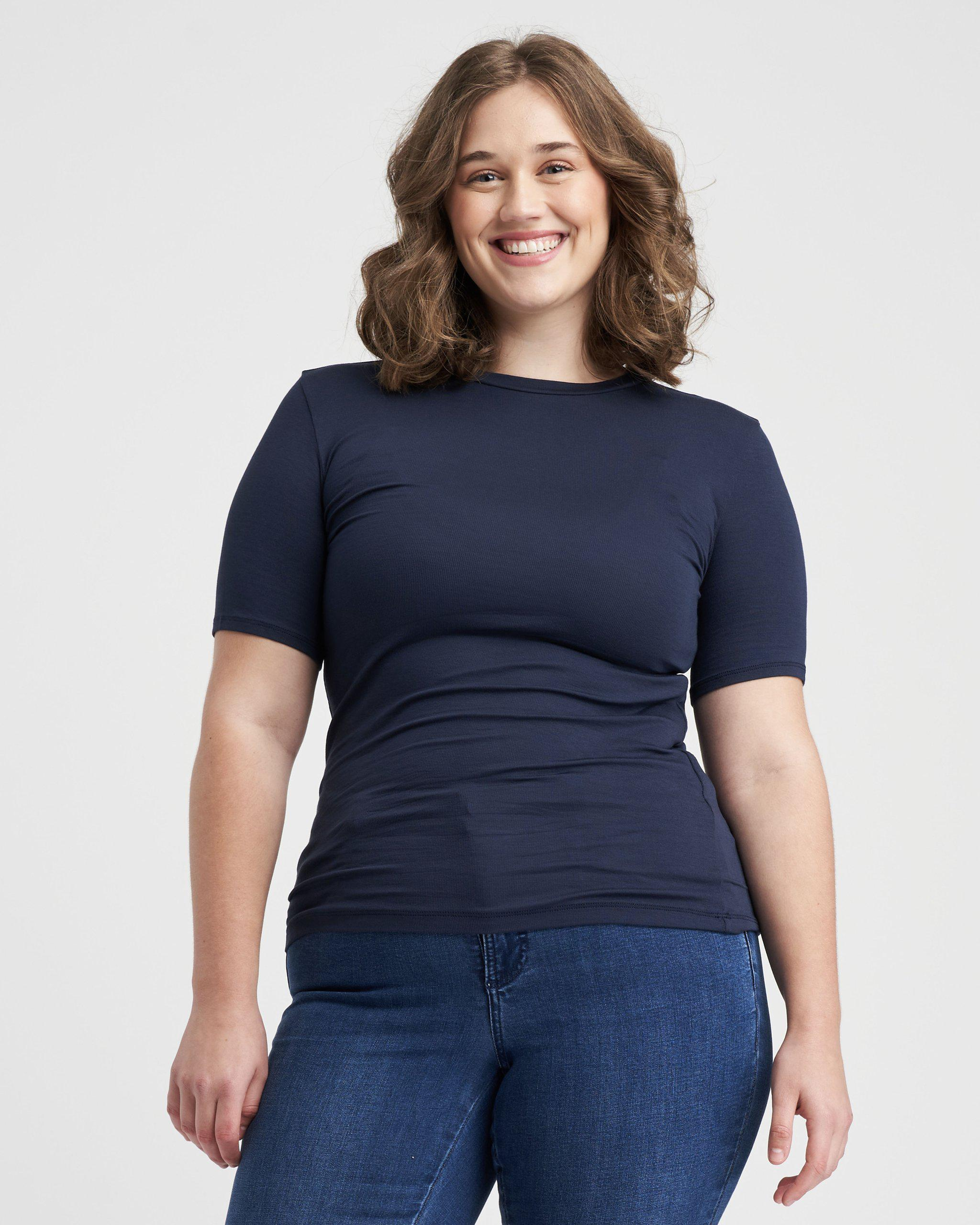 Foundation Short Sleeve Crew Neck Relaxed Tee