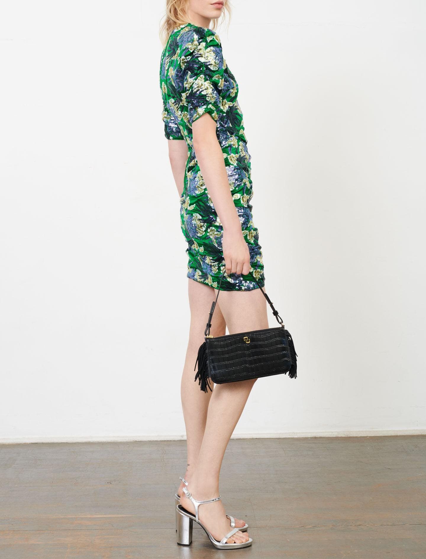 EMBROIDERED SEQUIN DRESS 3