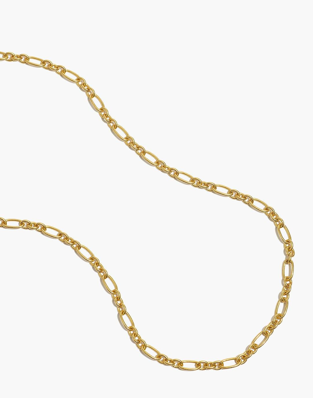 Mixed-Link Chain Necklace