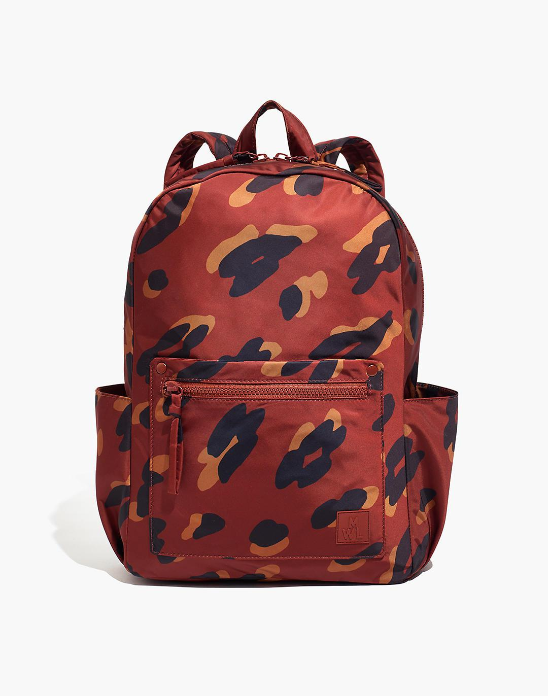 The (Re)sourced Backpack in Painted Leopard