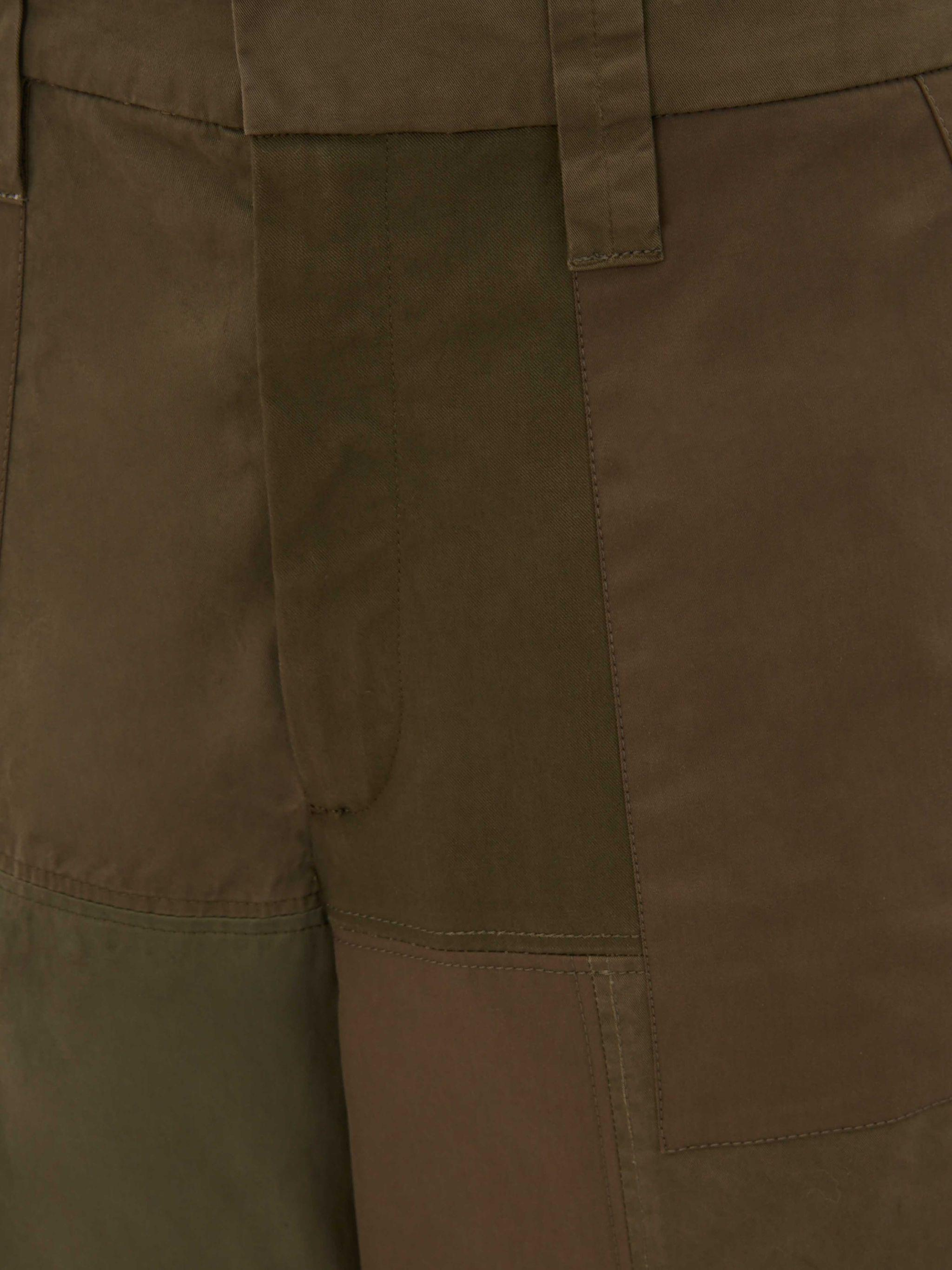 CROPPED WIDE LEG TROUSERS 4