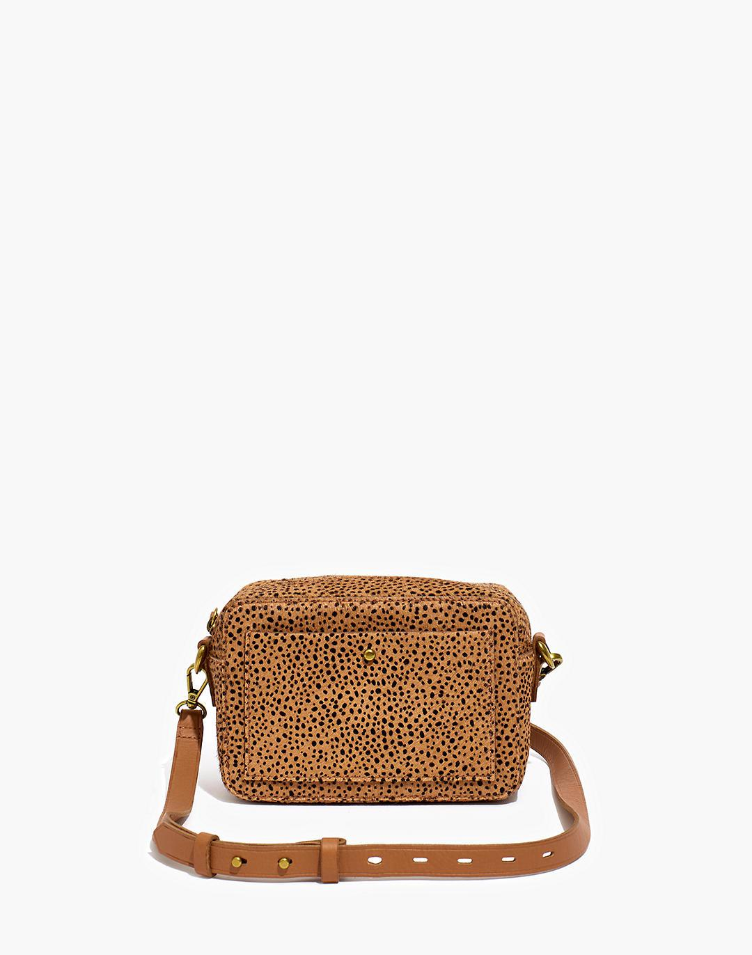 The Transport Camera Bag in Dotted Calf Hair