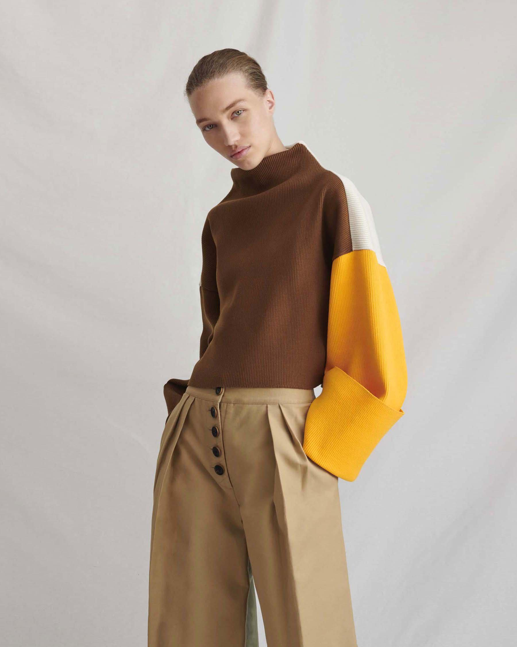 Parker Sweater Brown