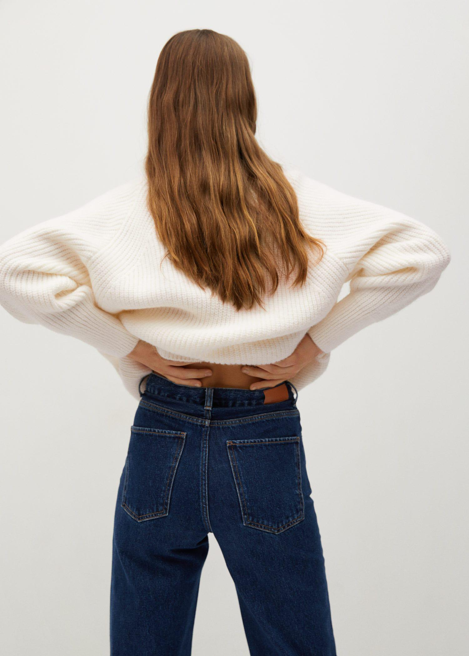 Turtleneck knitted sweater 2
