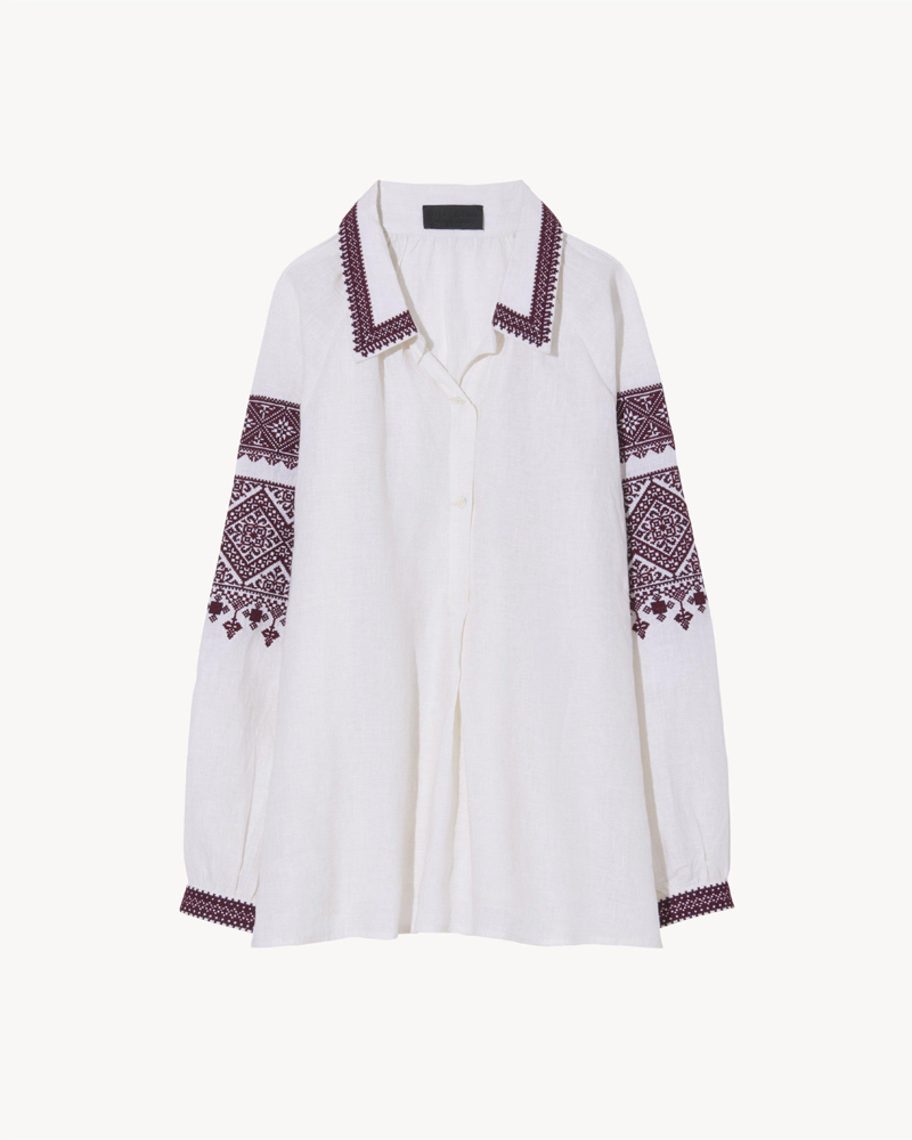 JILL EMBROIDERED TOP 1