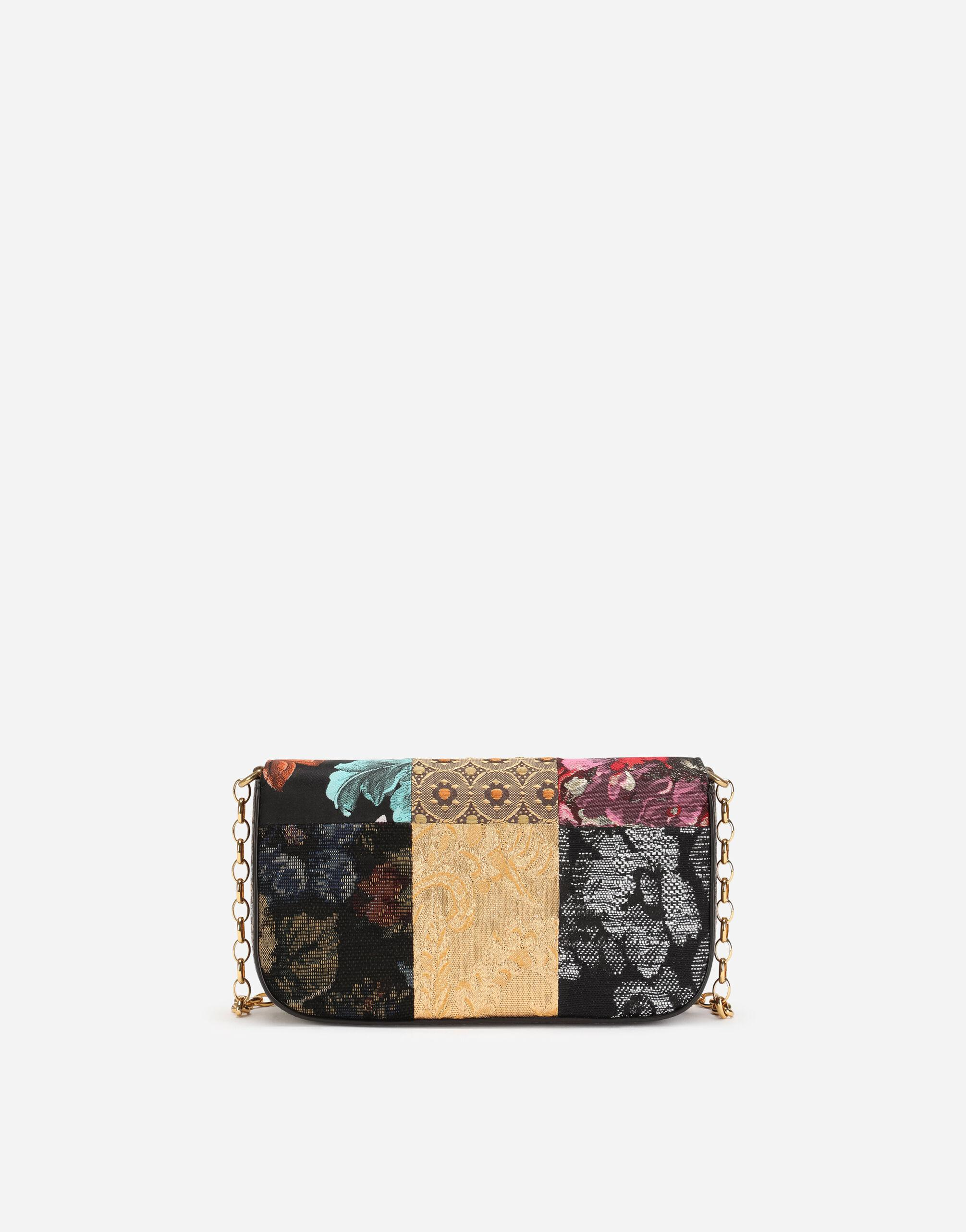 DG Girls clutch in patchwork fabric and ayers 2