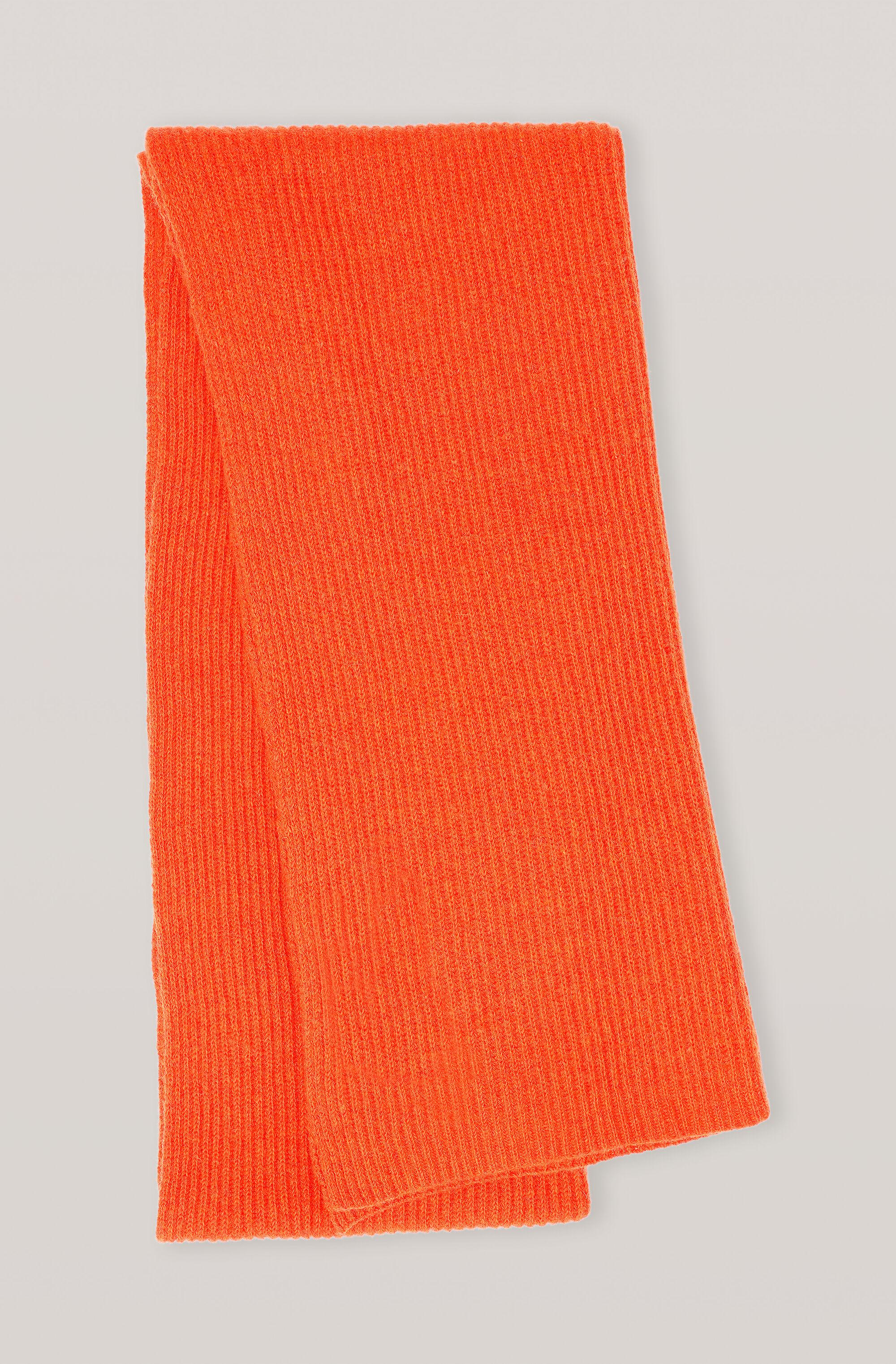 Recycled Wool Knit Scarf