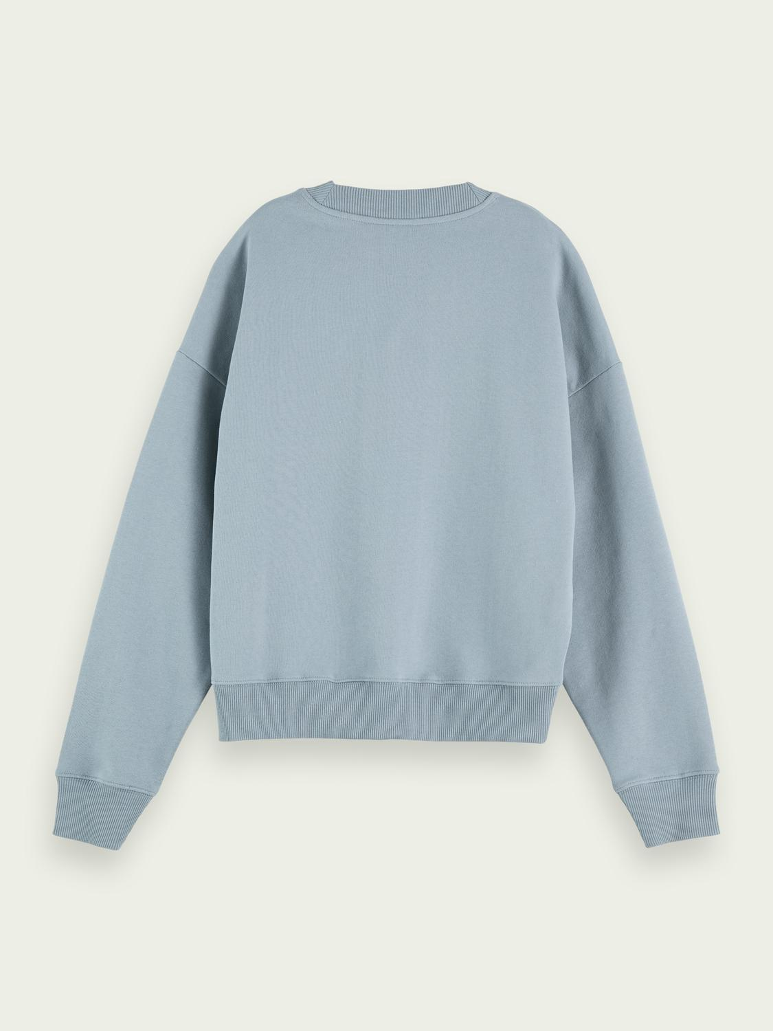 Relaxed-fit organic cotton sweater 4