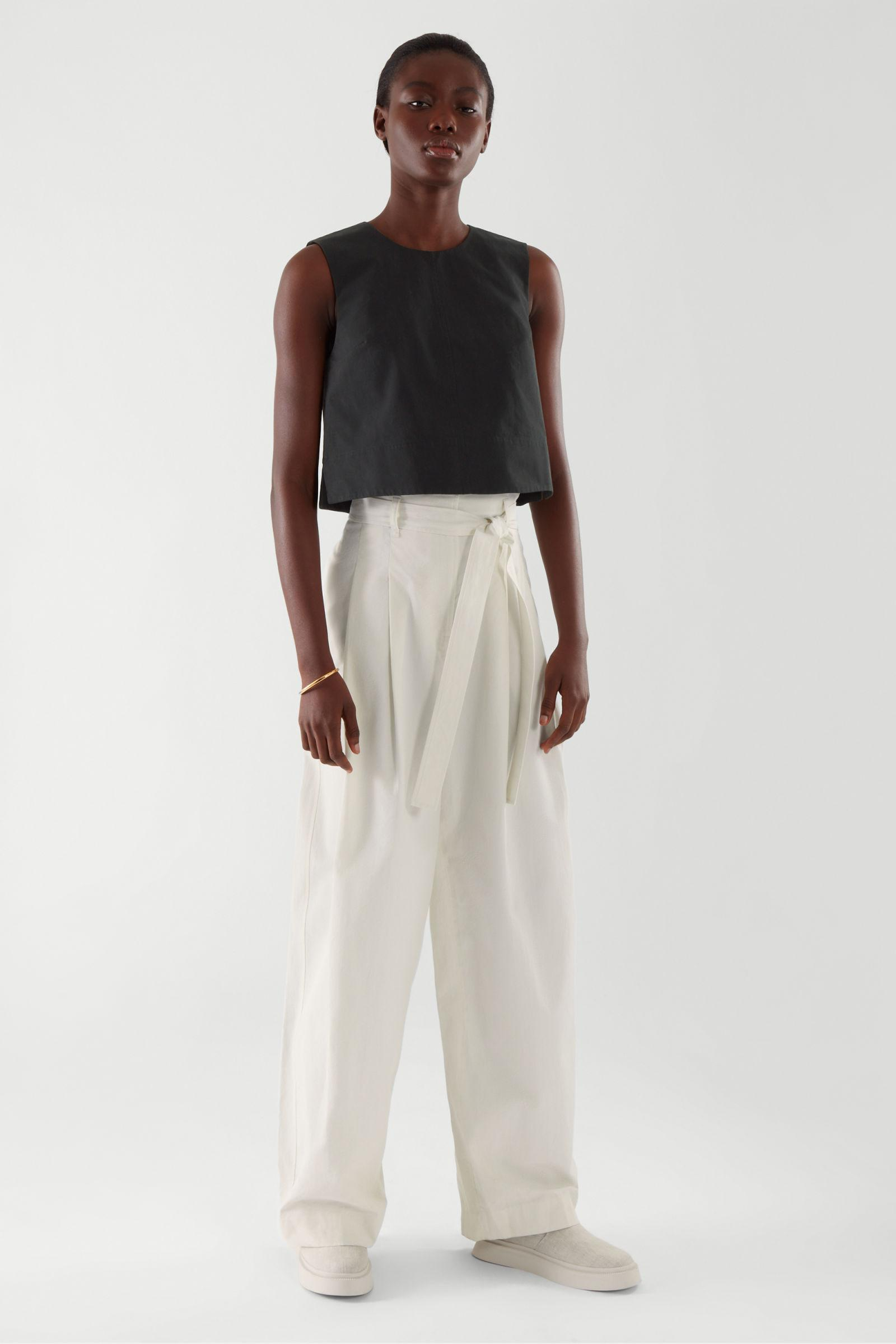 A-LINE CROPPED TOP
