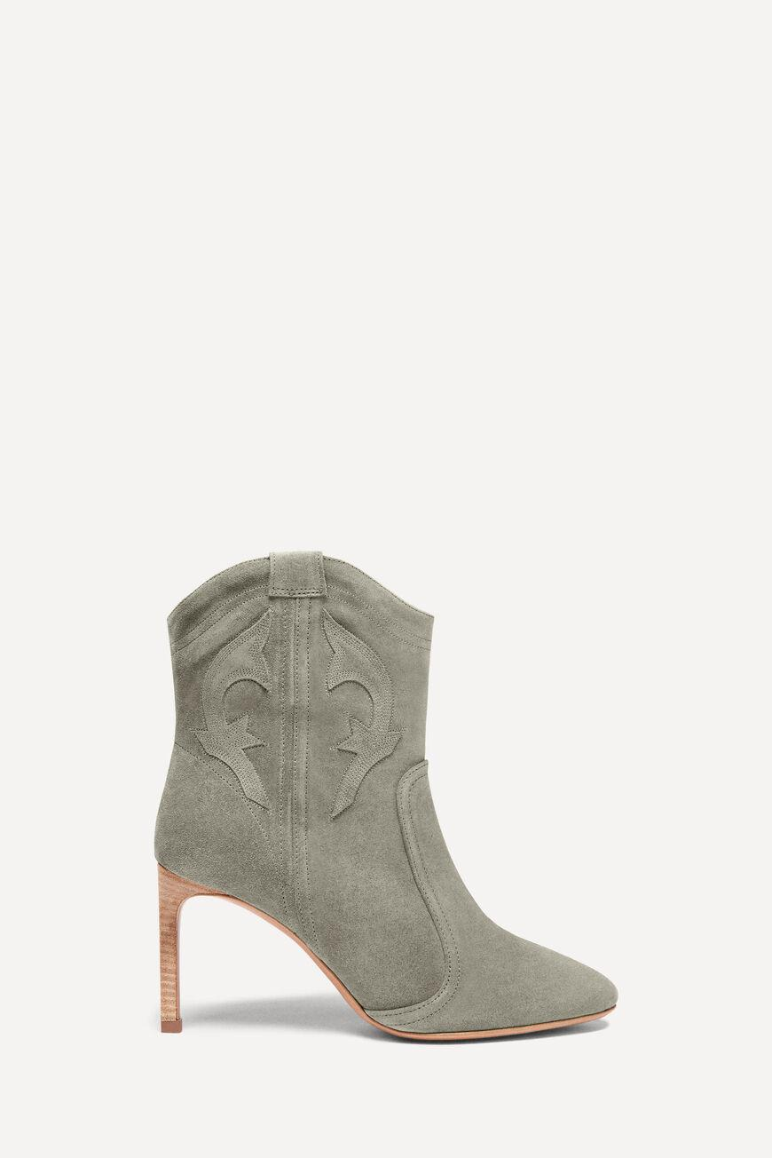 caitlin.SUEDE ANKLE BOOTS