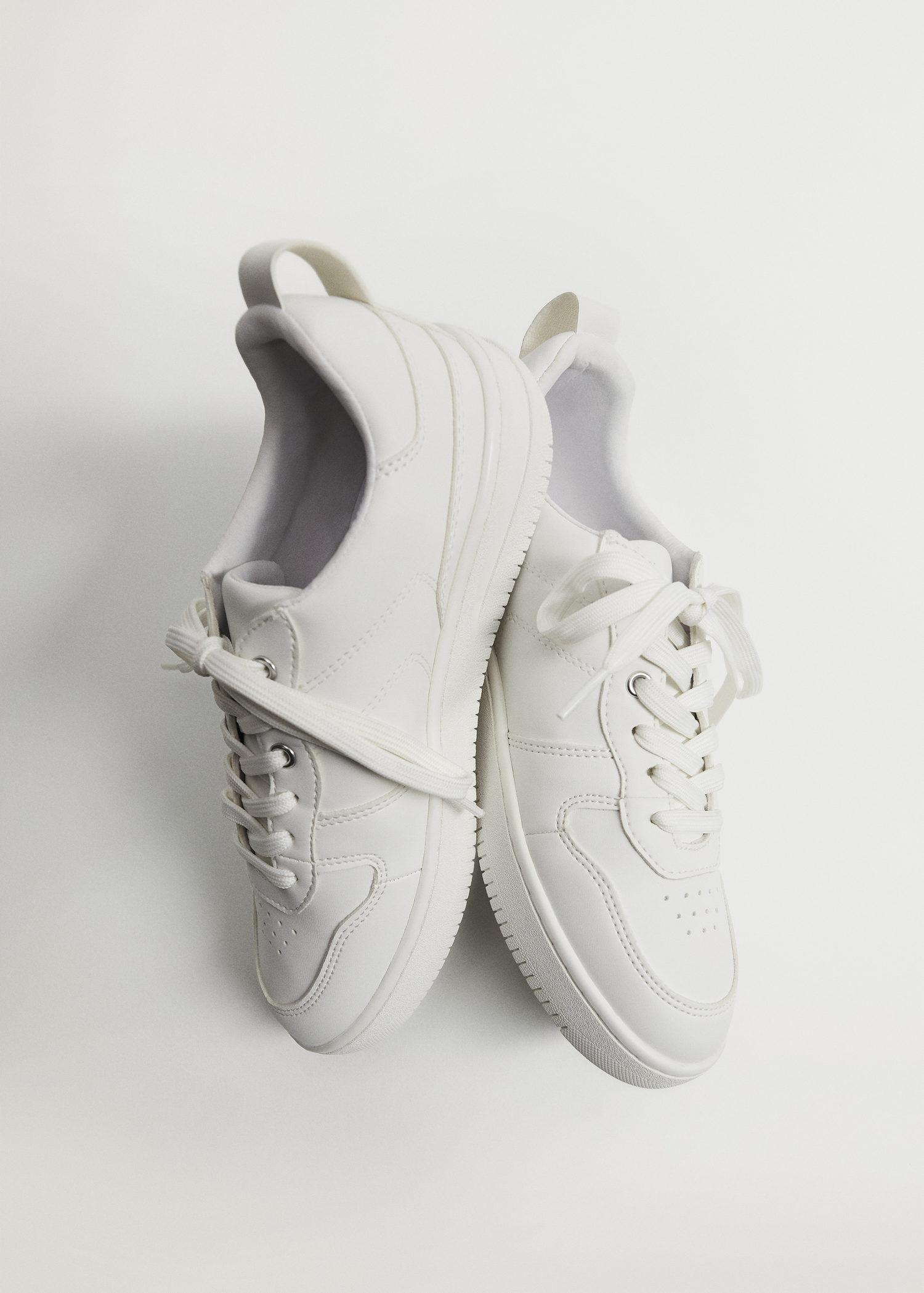 Platform lace-up sneakers 1