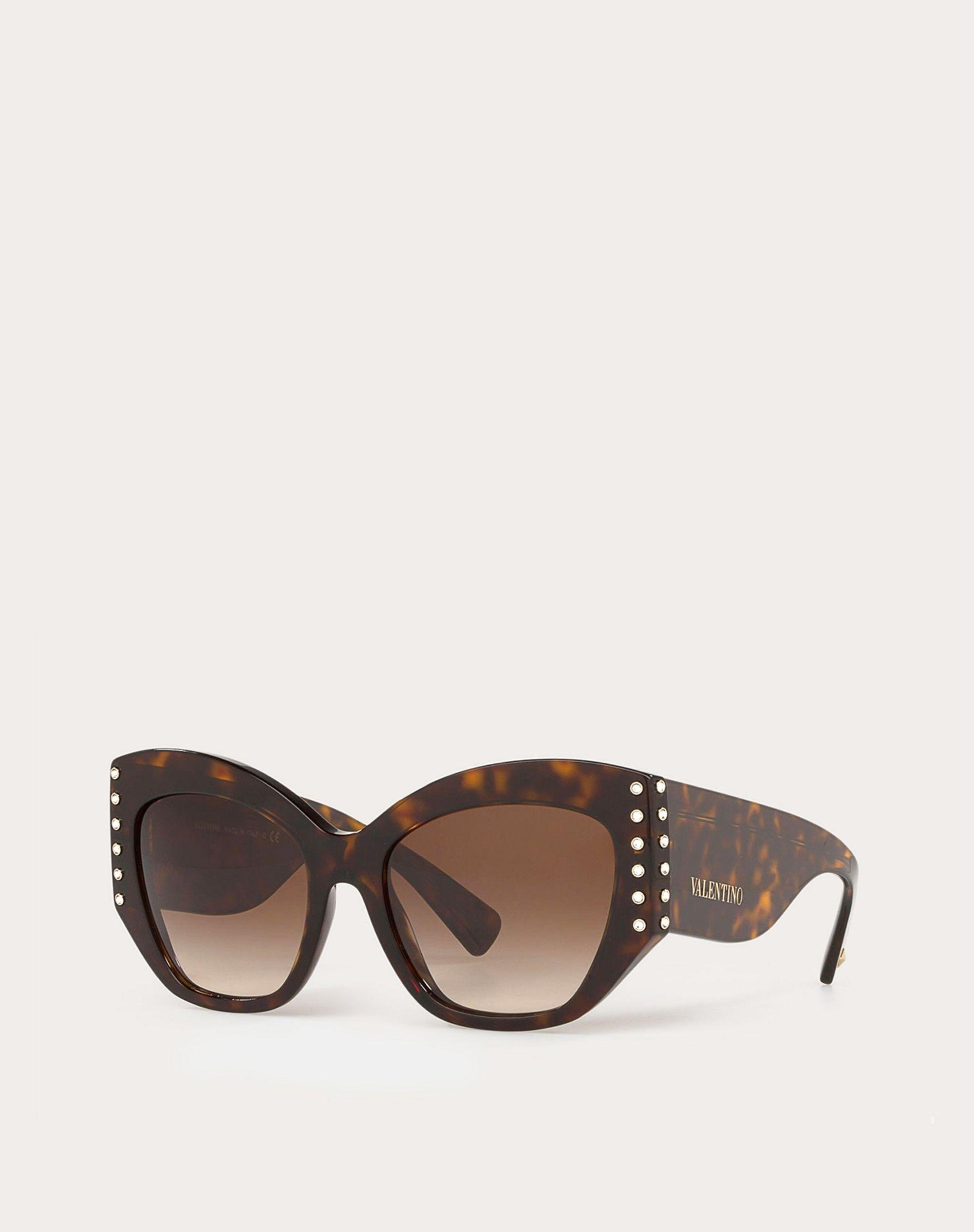 ACETATE SUNGLASSES WITH CRYSTAL STUDS 1