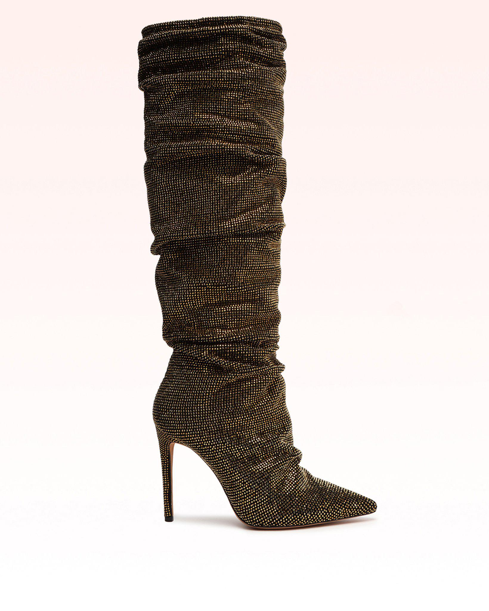 Jenny Slouch Suede Boot