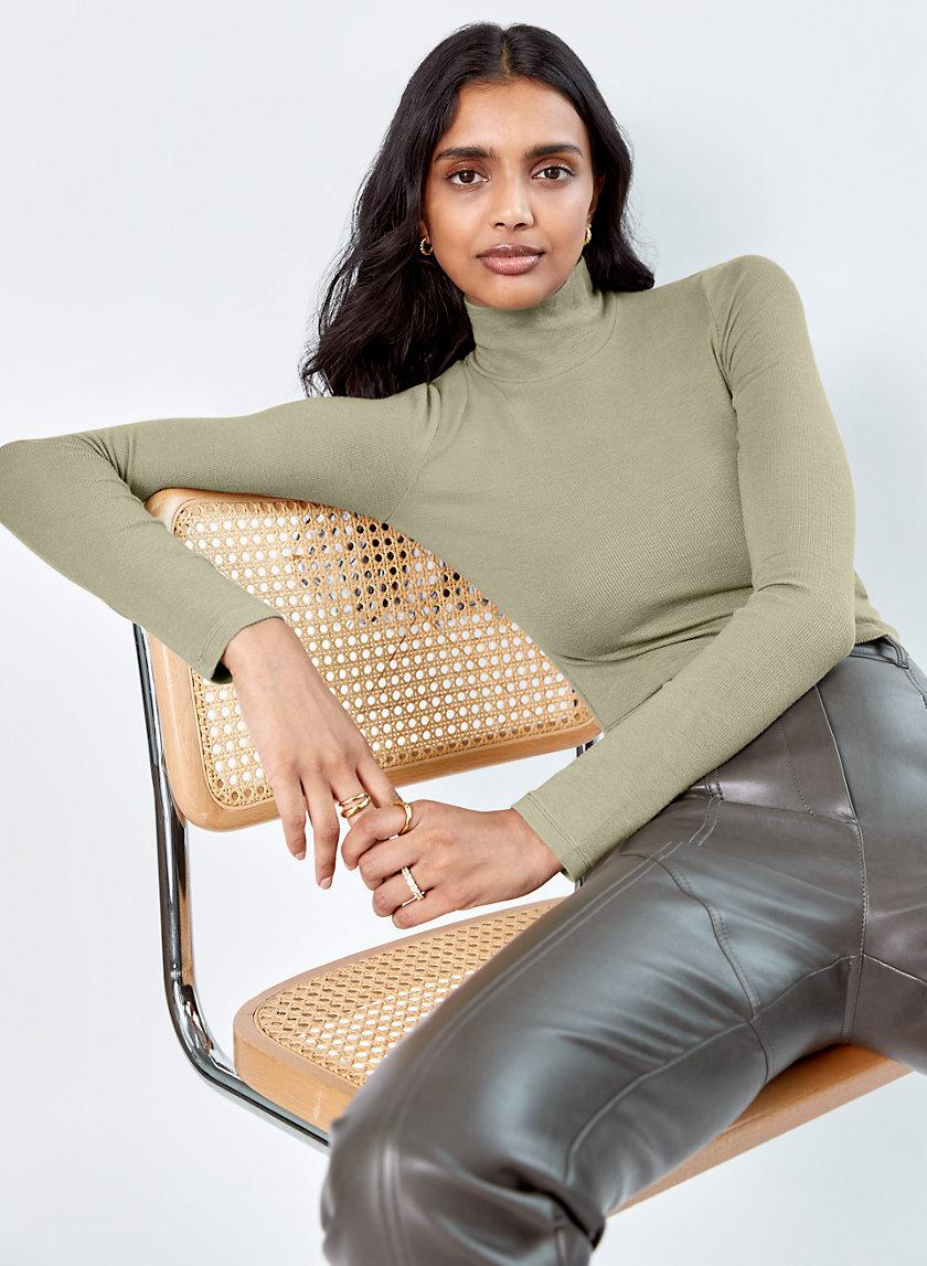 Only Cropped Turtleneck