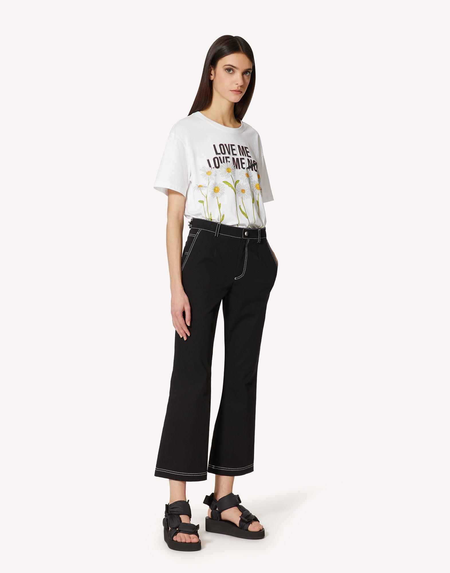 T-SHIRT WITH DAISY PRINT 2