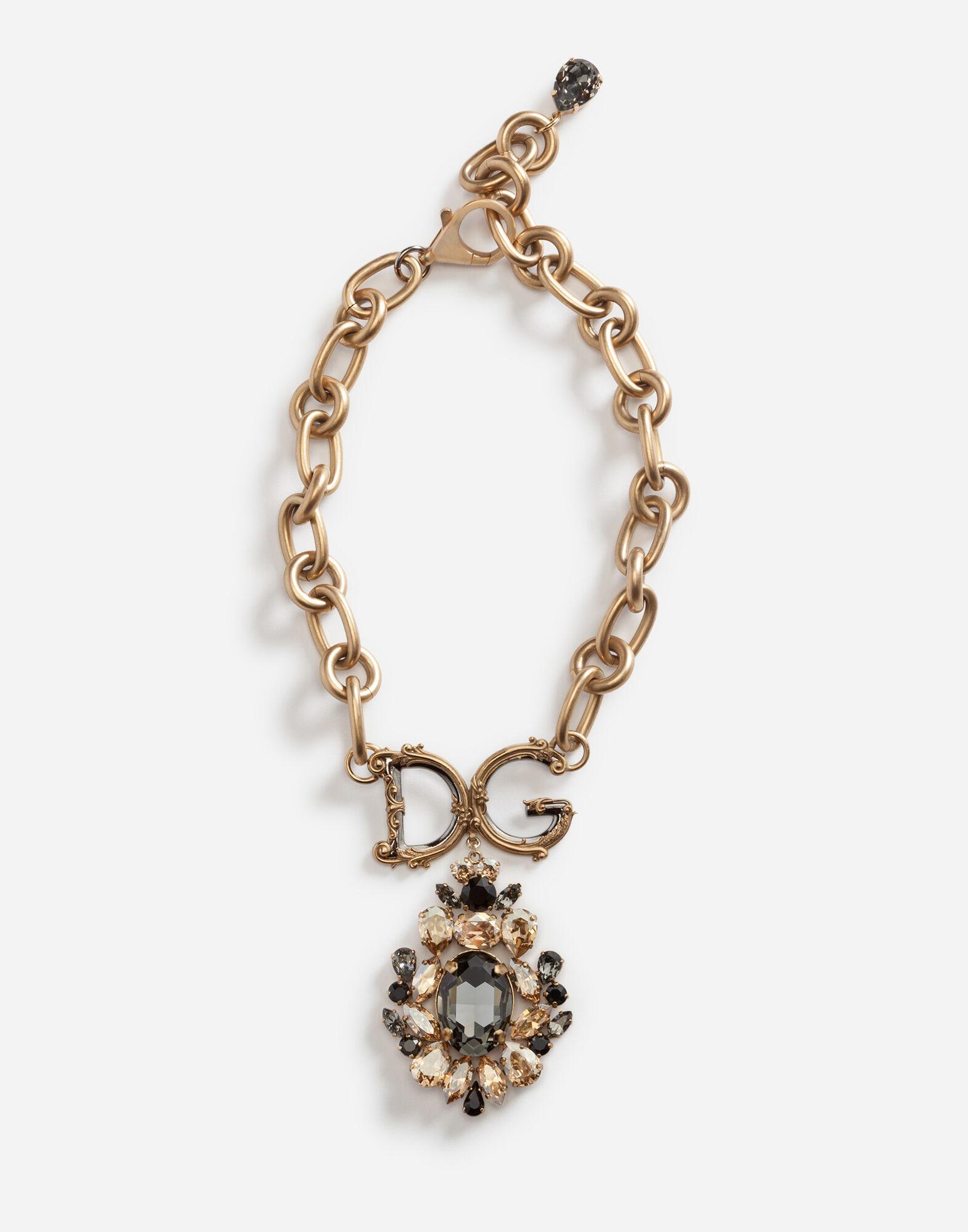 Necklace with decorative elements