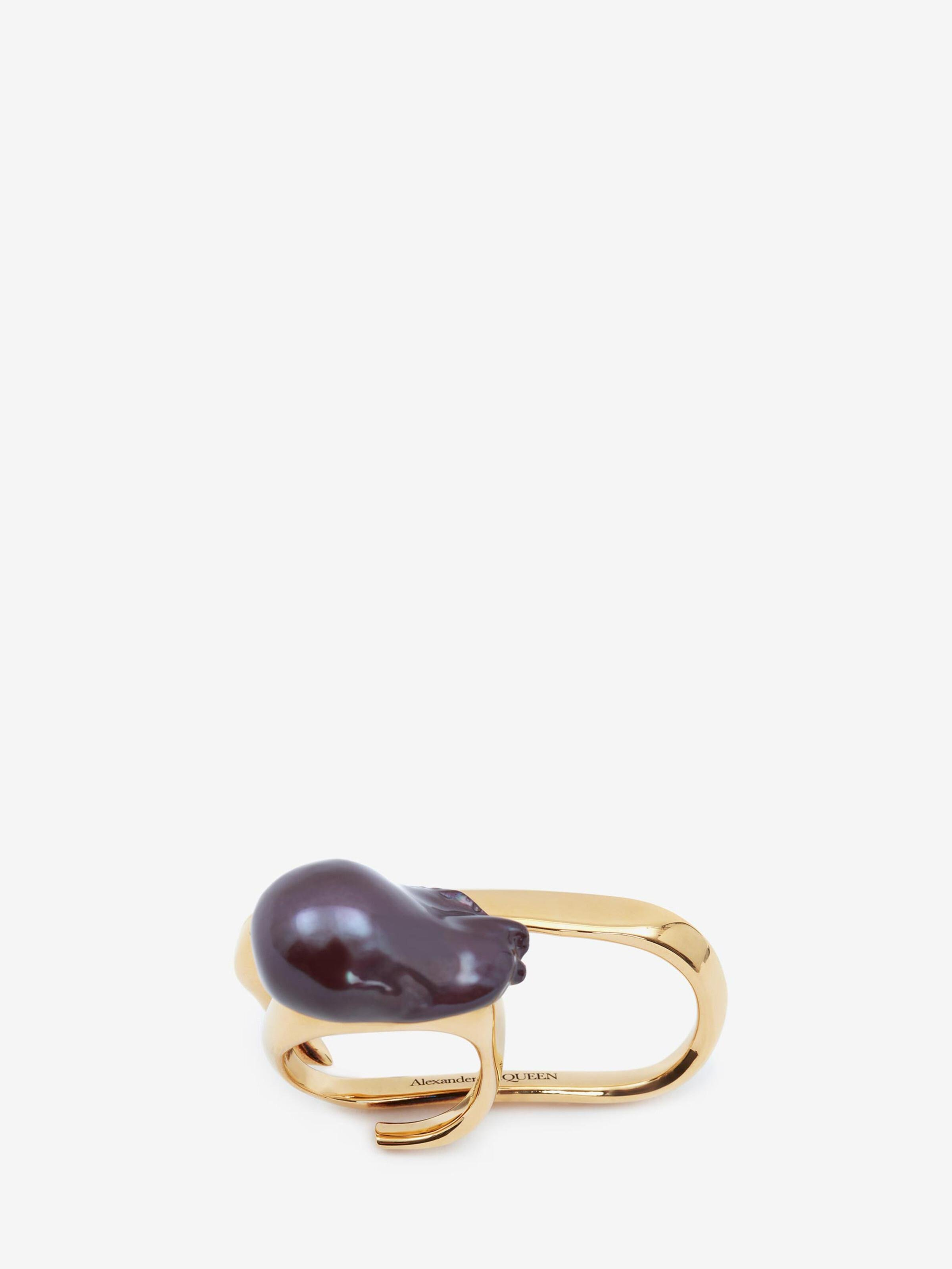 Pearl Double Ring