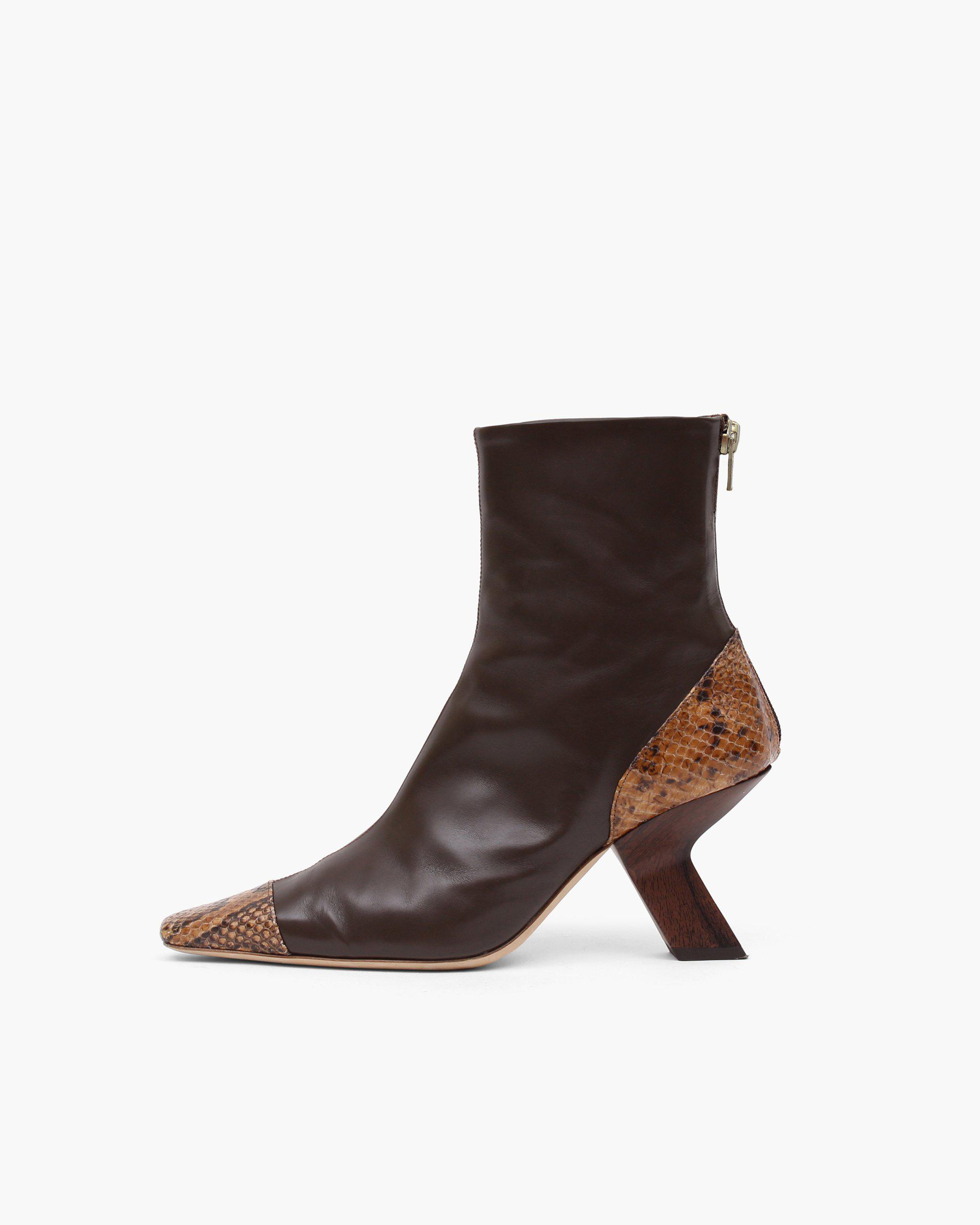Marley Boot Leather Brown