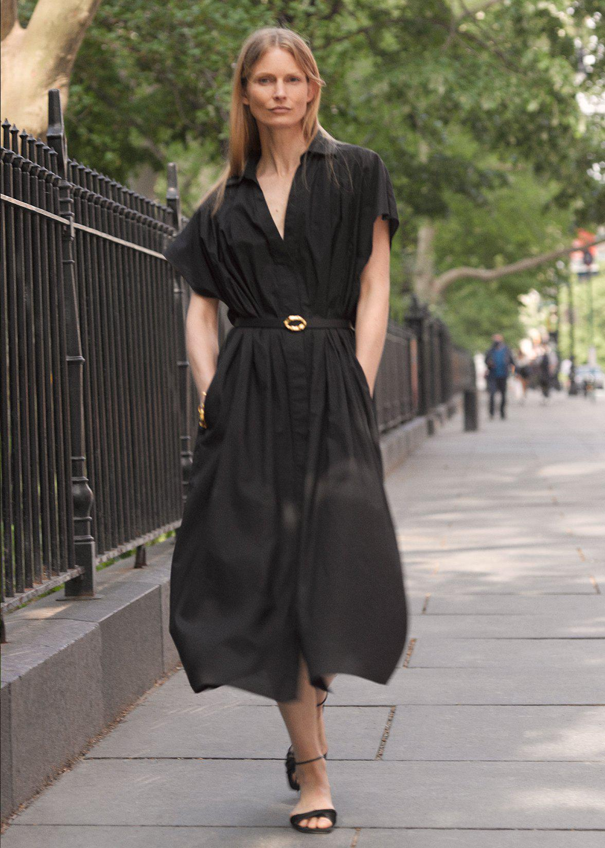 SHIRT DRESS IN COTTON VOILE 4