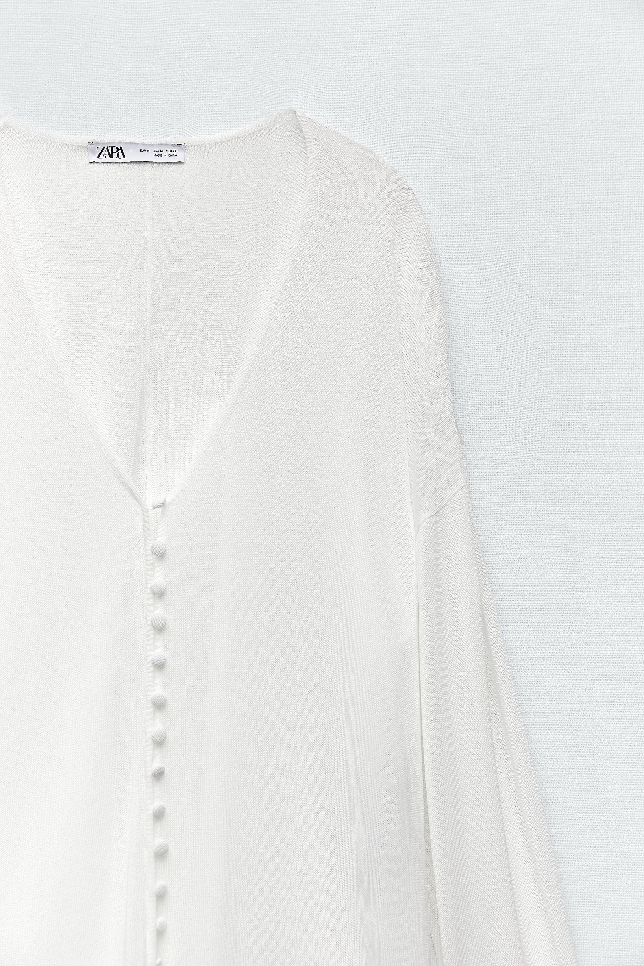 SEMI-SHEER KNIT BLOUSE LIMITED EDITION 6