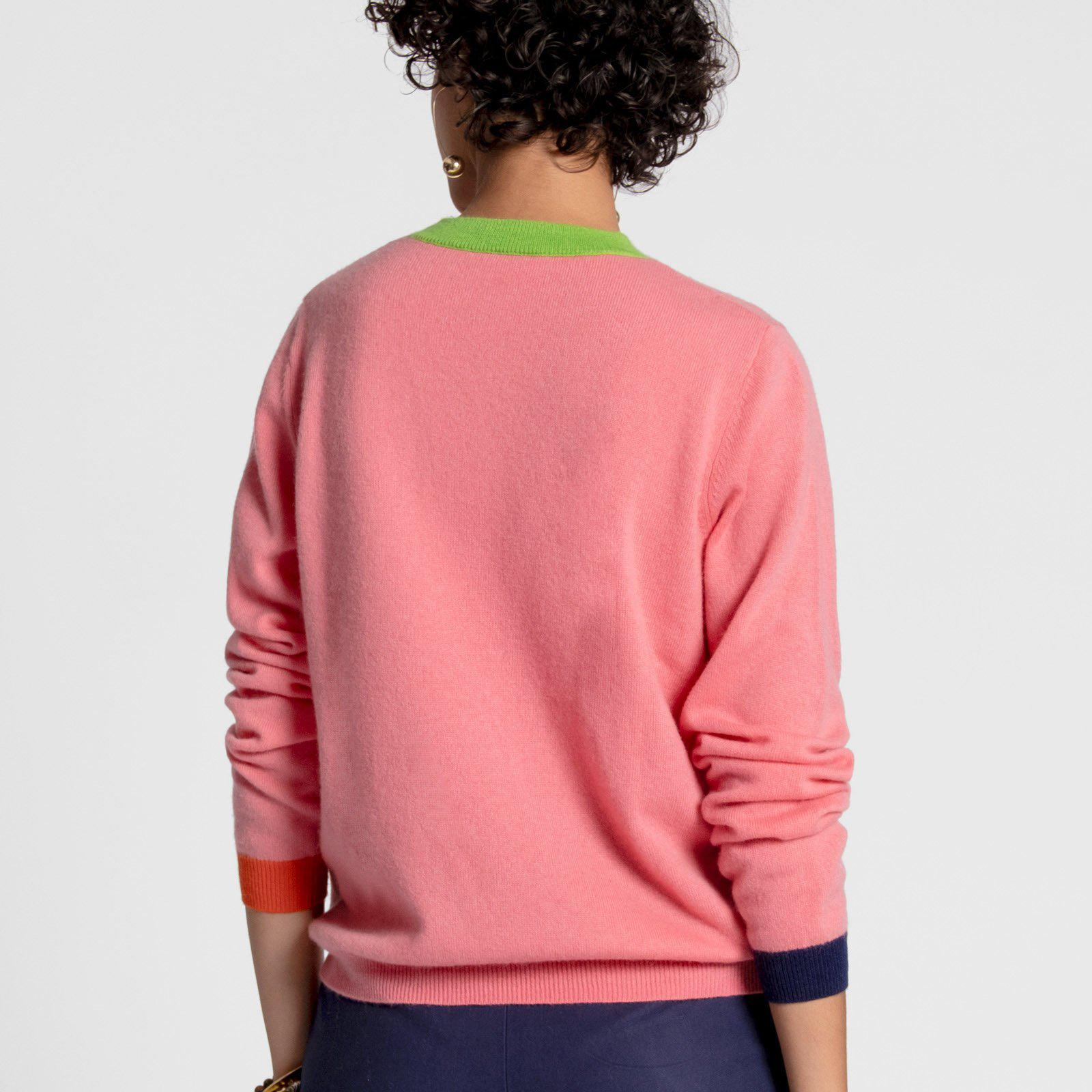 Betts Cashmere Sweater Pink 1