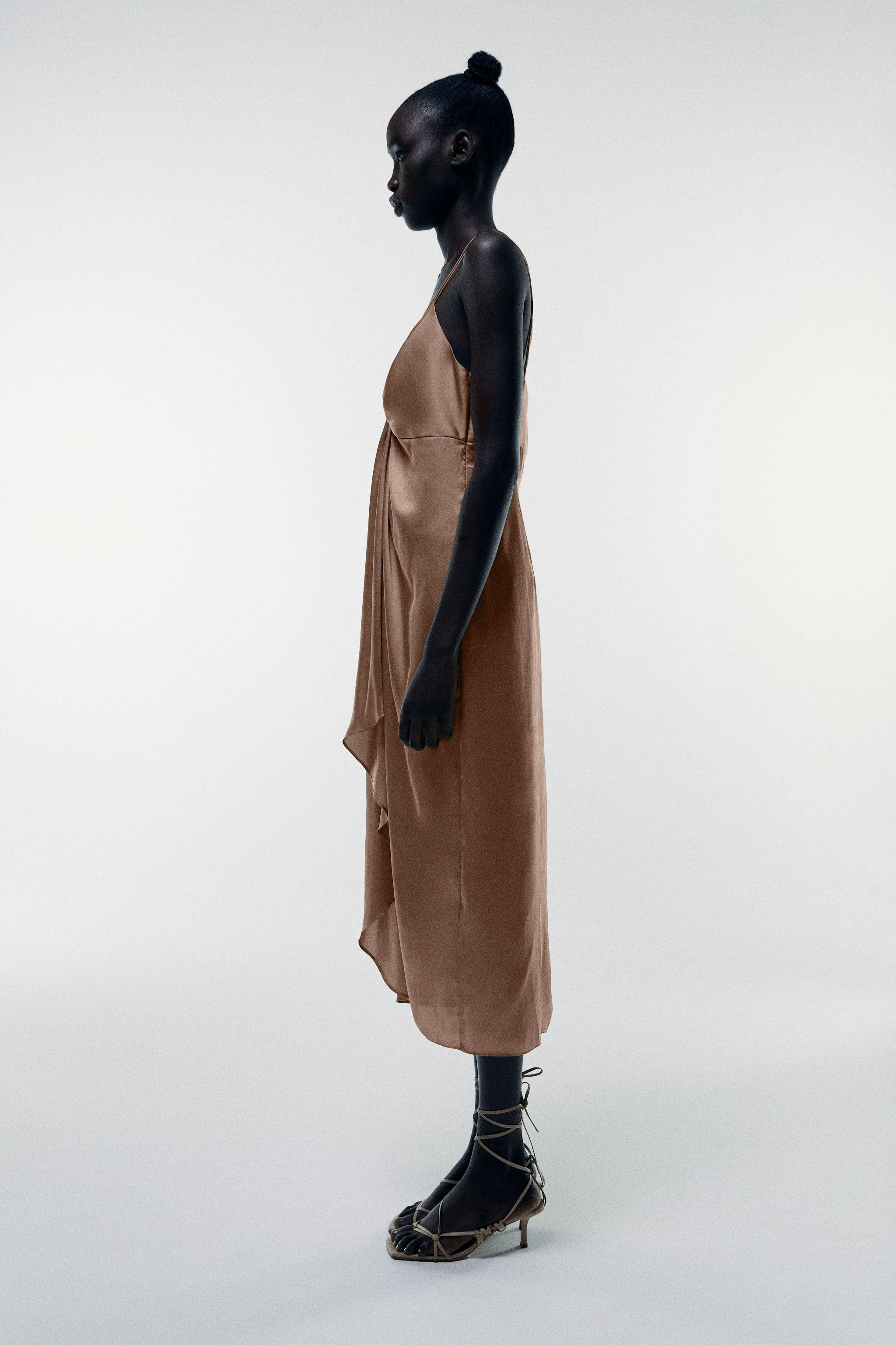 KNOTTED SLIP DRESS 2