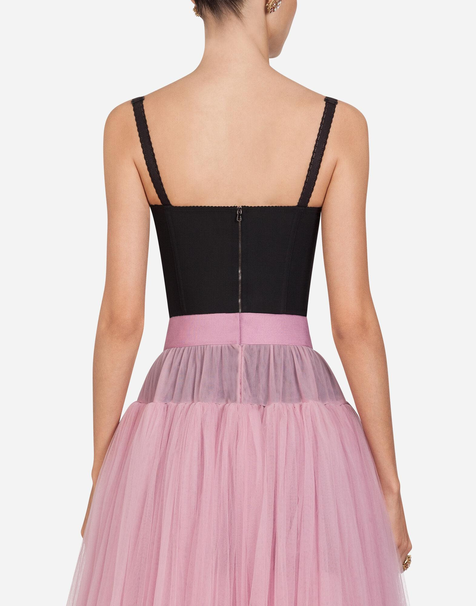 Corset style bustier 1