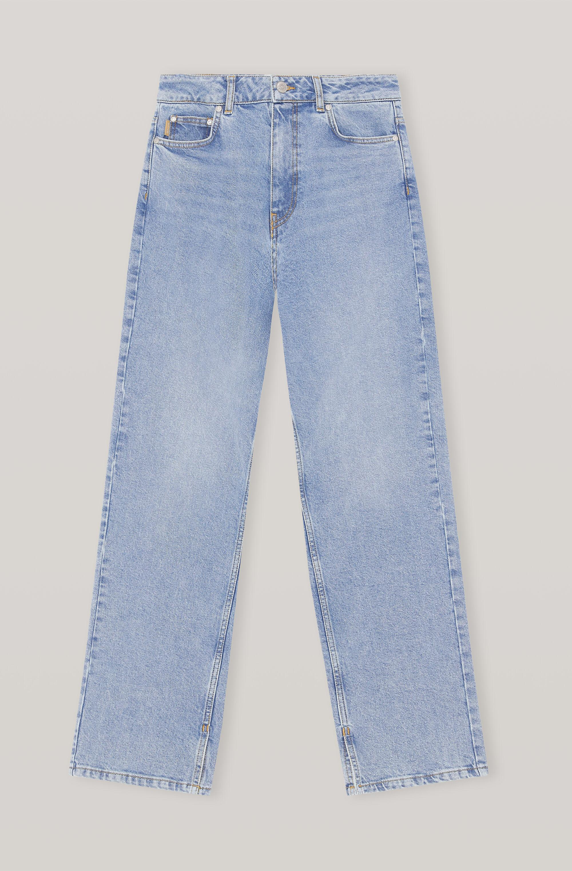 High-Rise Straight Stretch Jeans 2