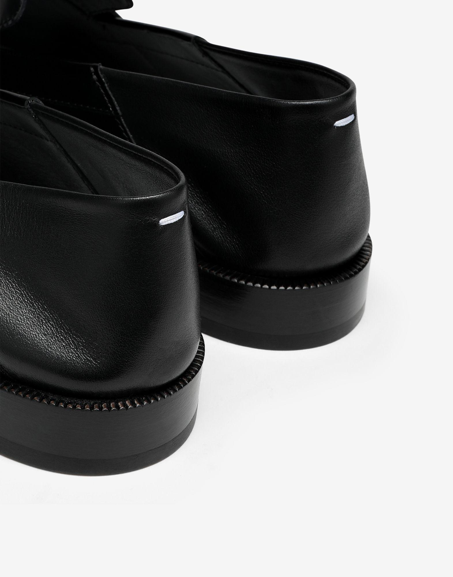 Tabi leather loafers 5