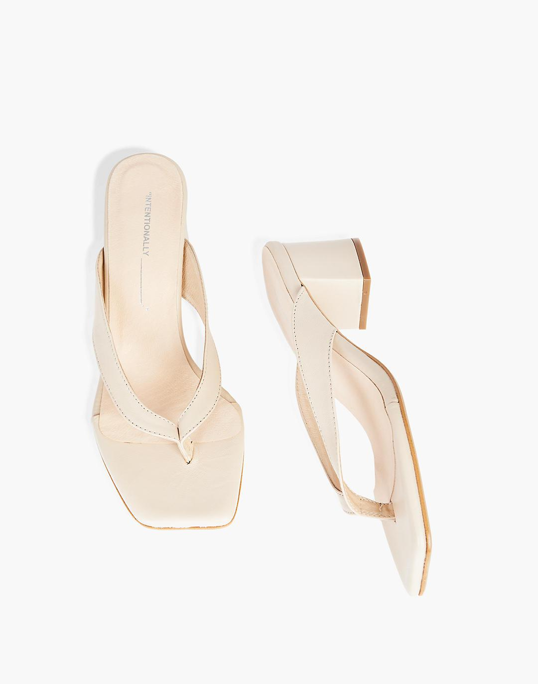 INTENTIONALLY BLANK Tea Clouds Sandals