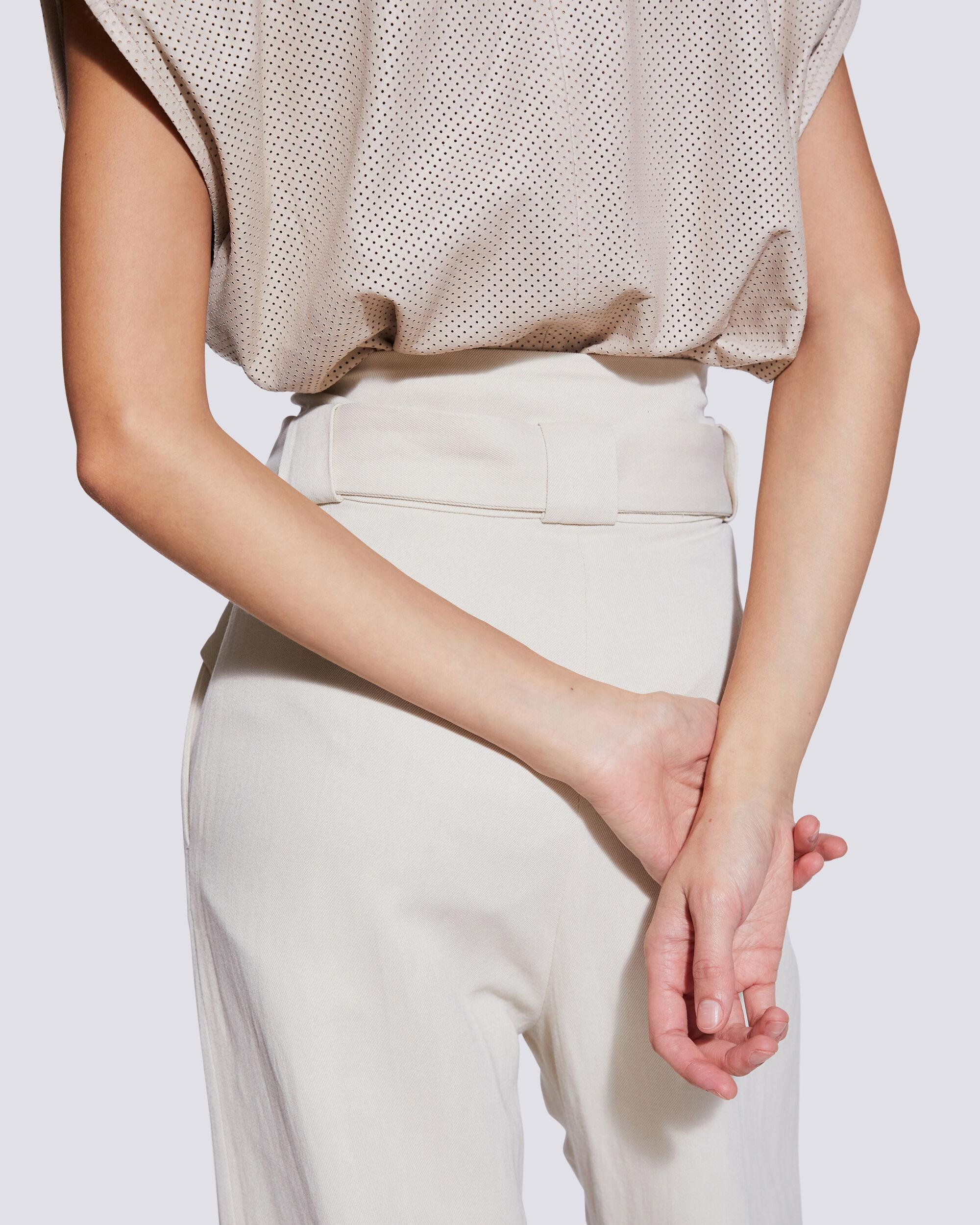 APOLLONIA BELTED WIDE LEG TROUSERS 4