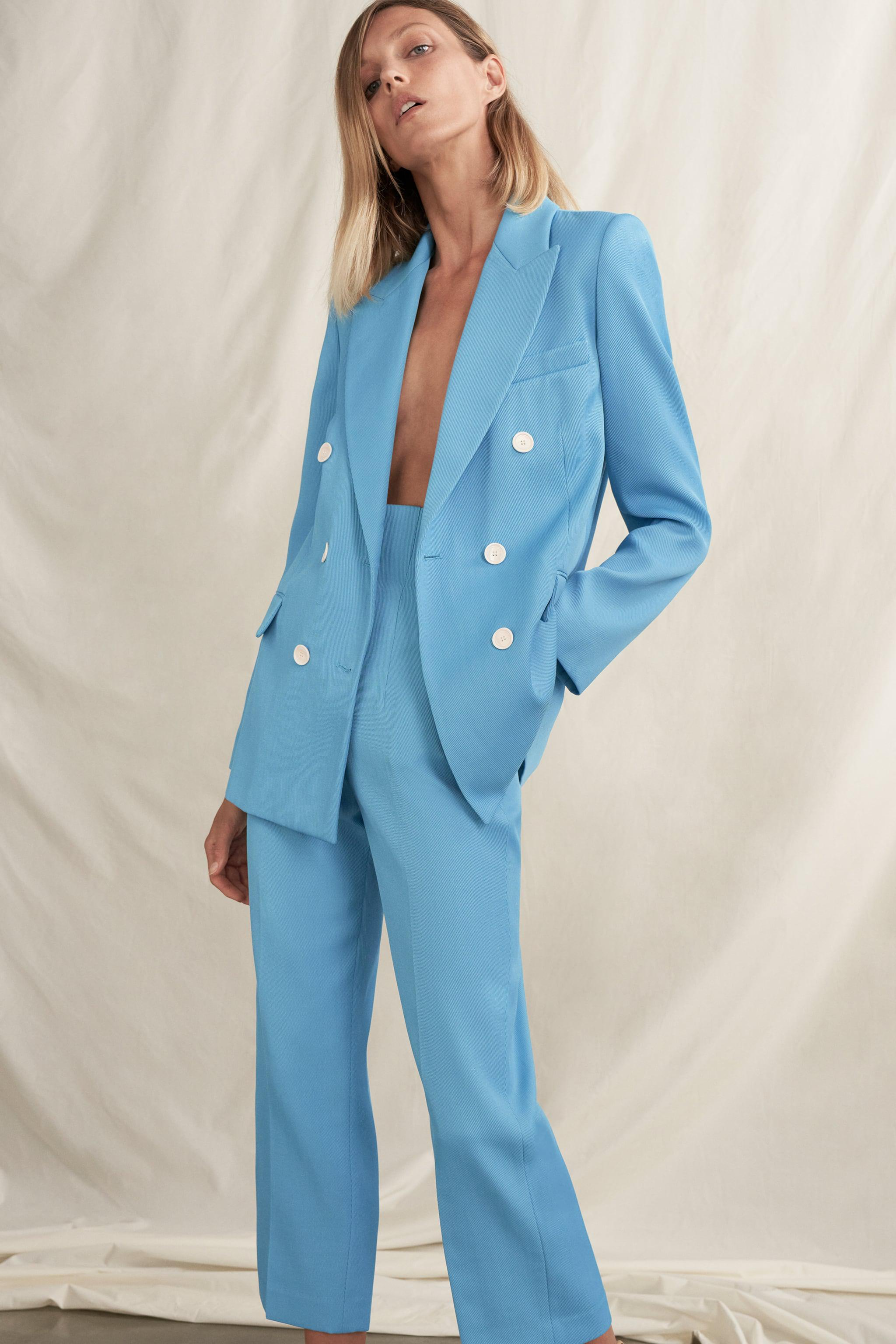 DOUBLE BREASTED BLAZER WITH POCKETS 1