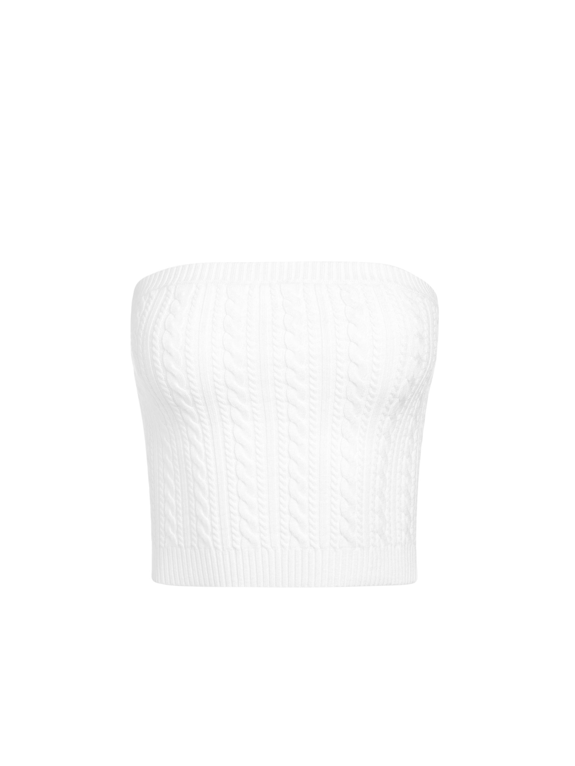 IZZIE CABLEKNIT TUBE TOP 6