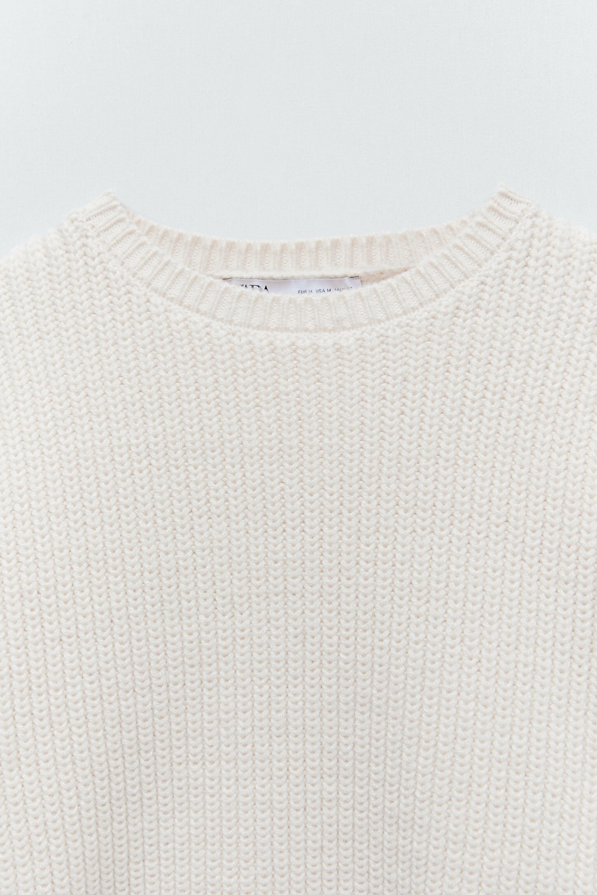 CROPPED LONG SLEEVE SWEATER 7