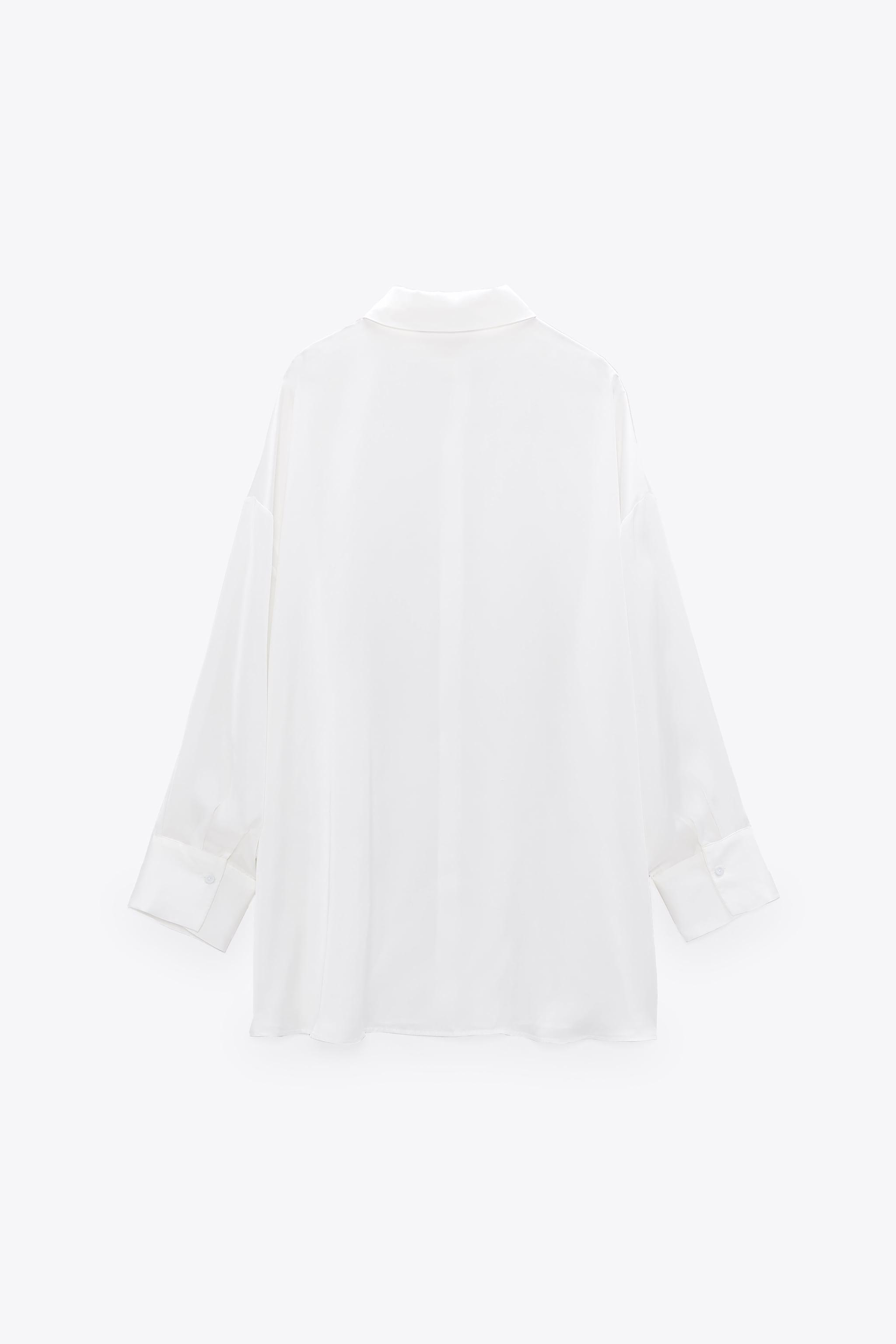 FLOWY LINED BUTTON SHIRT 7