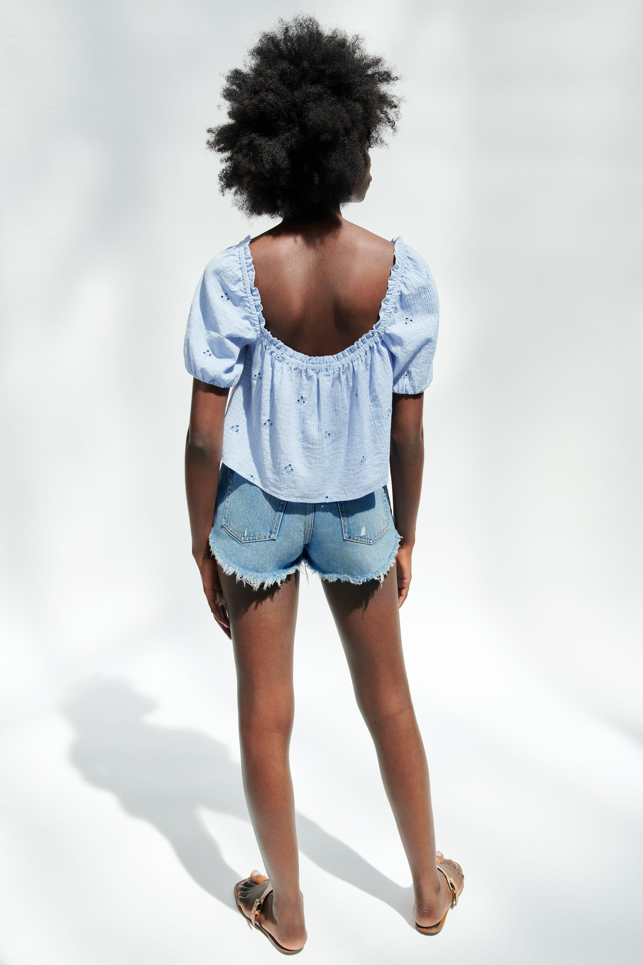 OPENWORK EMBROIDERED TOP 5