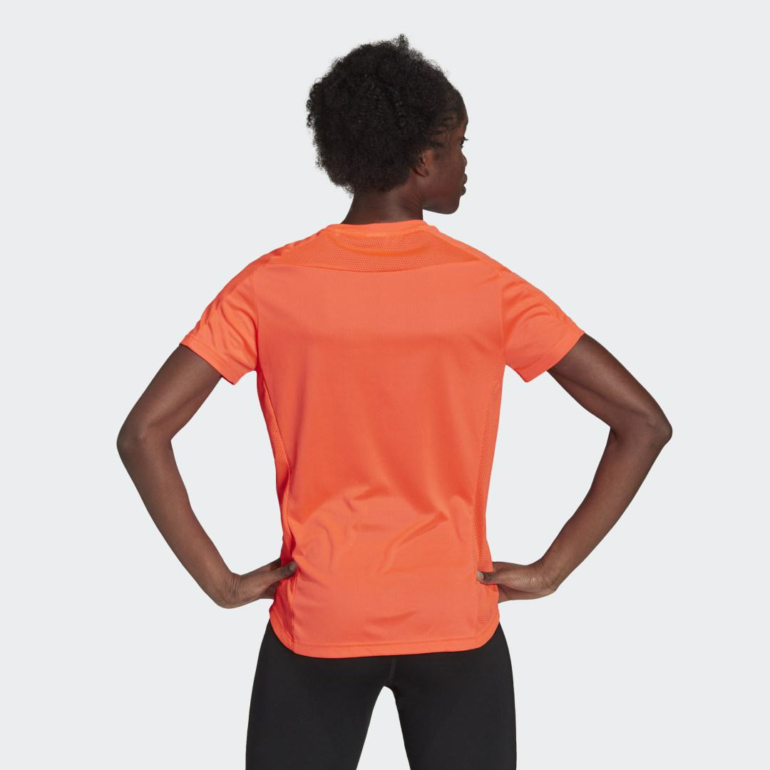 Own the Run Tee Red 1