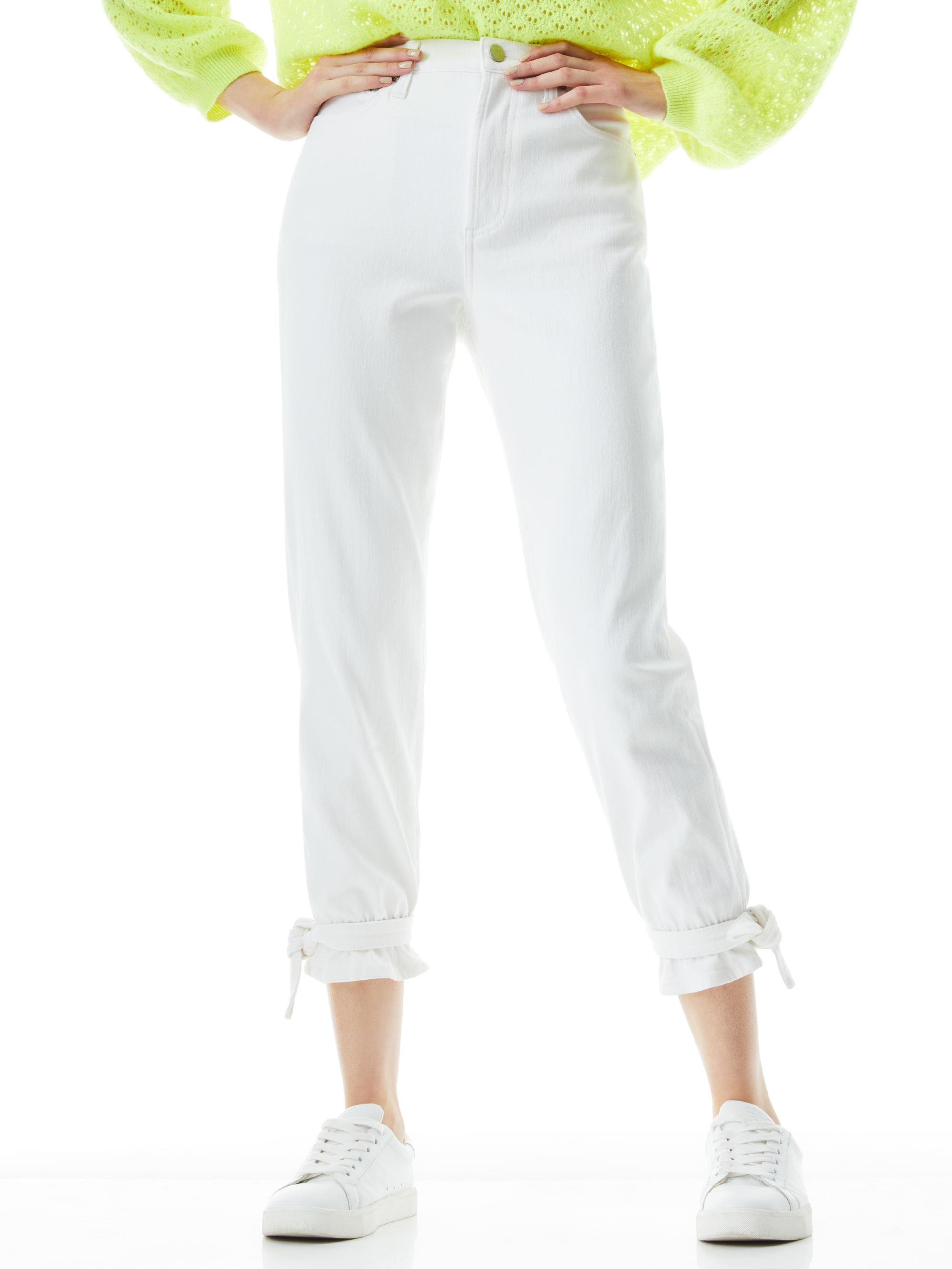 AMAZING HIGH RISE TIE PANT