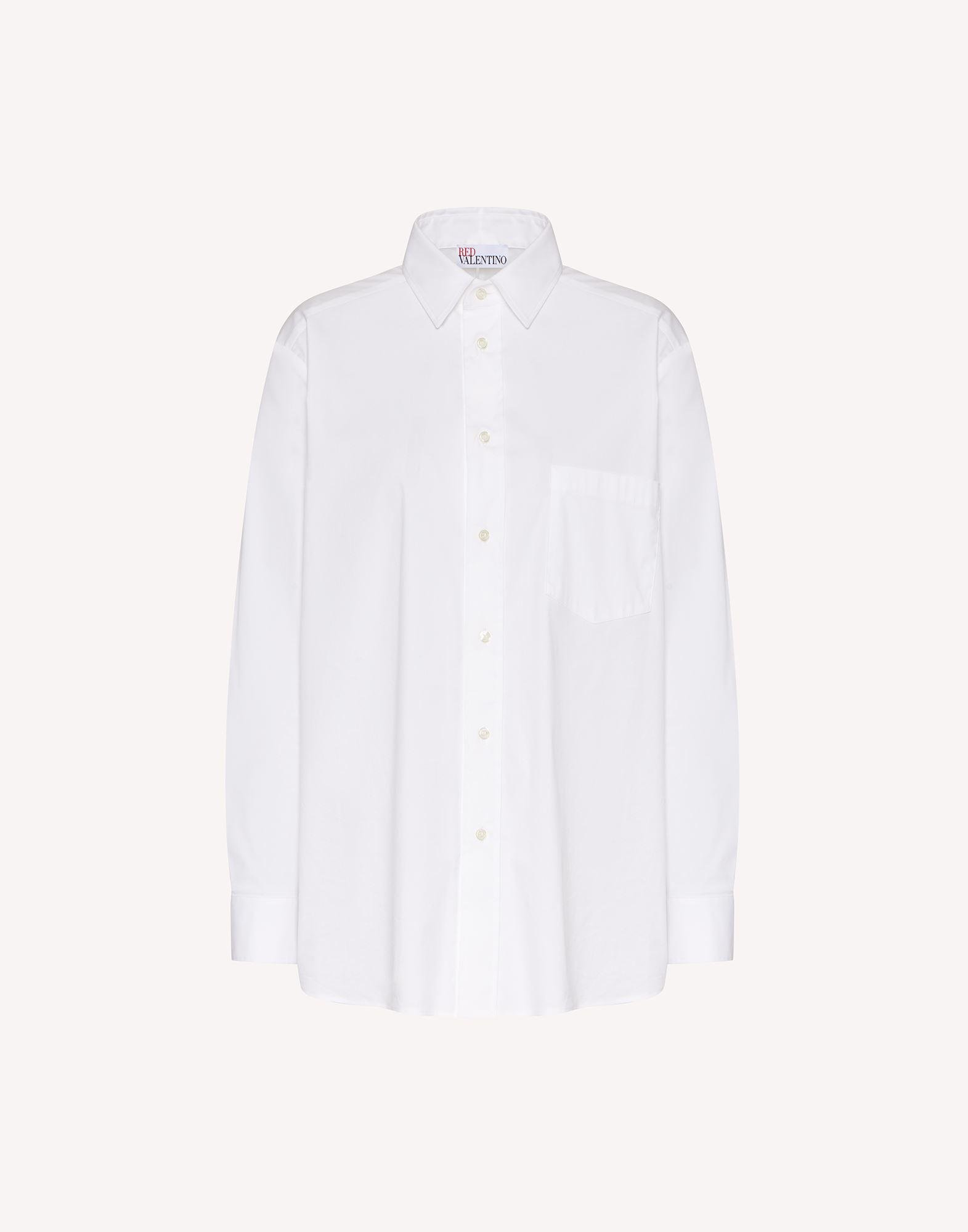 COTTON POPLIN SHIRT WITH BOW DETAILS 4