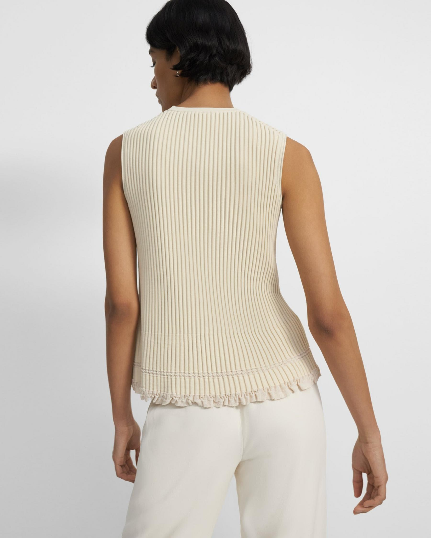 Shell Top in Eco Knit 2