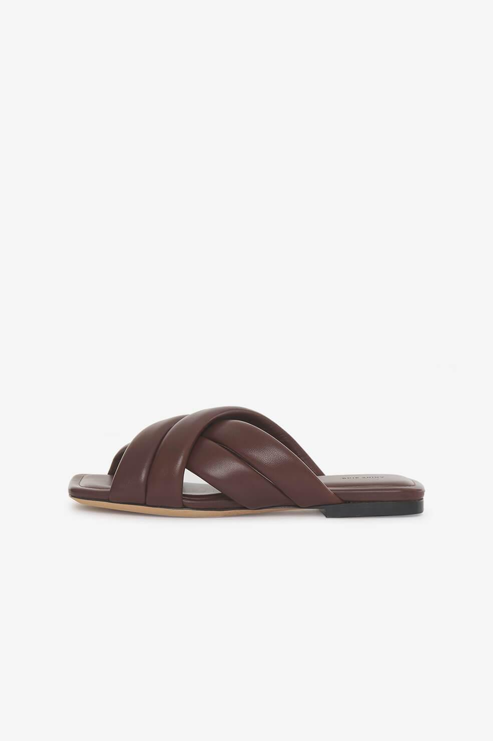 Eve Sandals - Chocolate Brown 4
