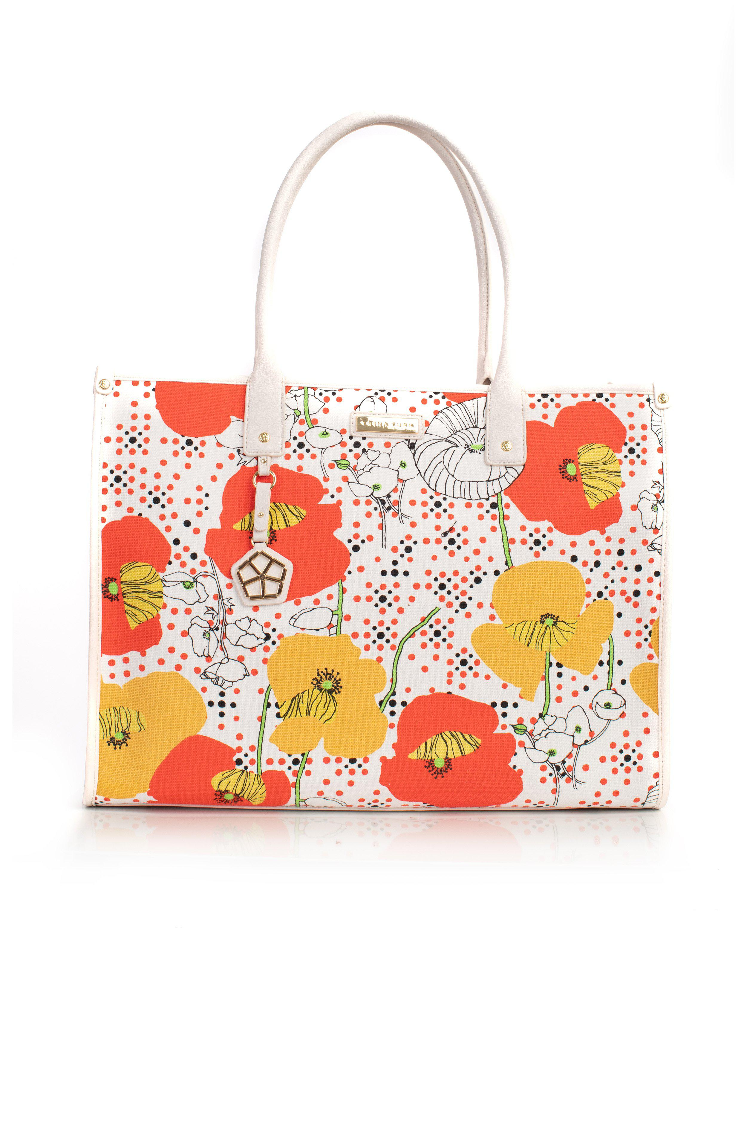 PATIO SWING LARGE CANVAS TOTE