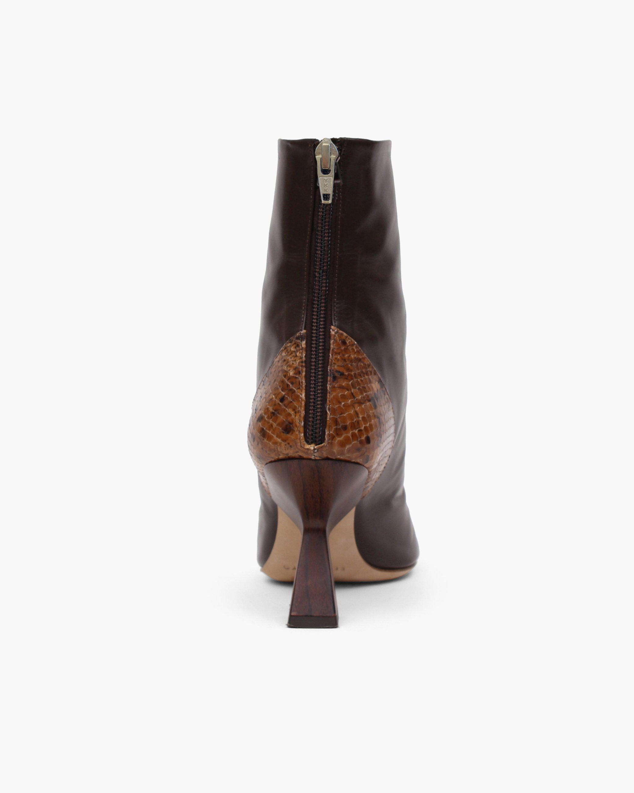 Marley Boot Leather Brown 2