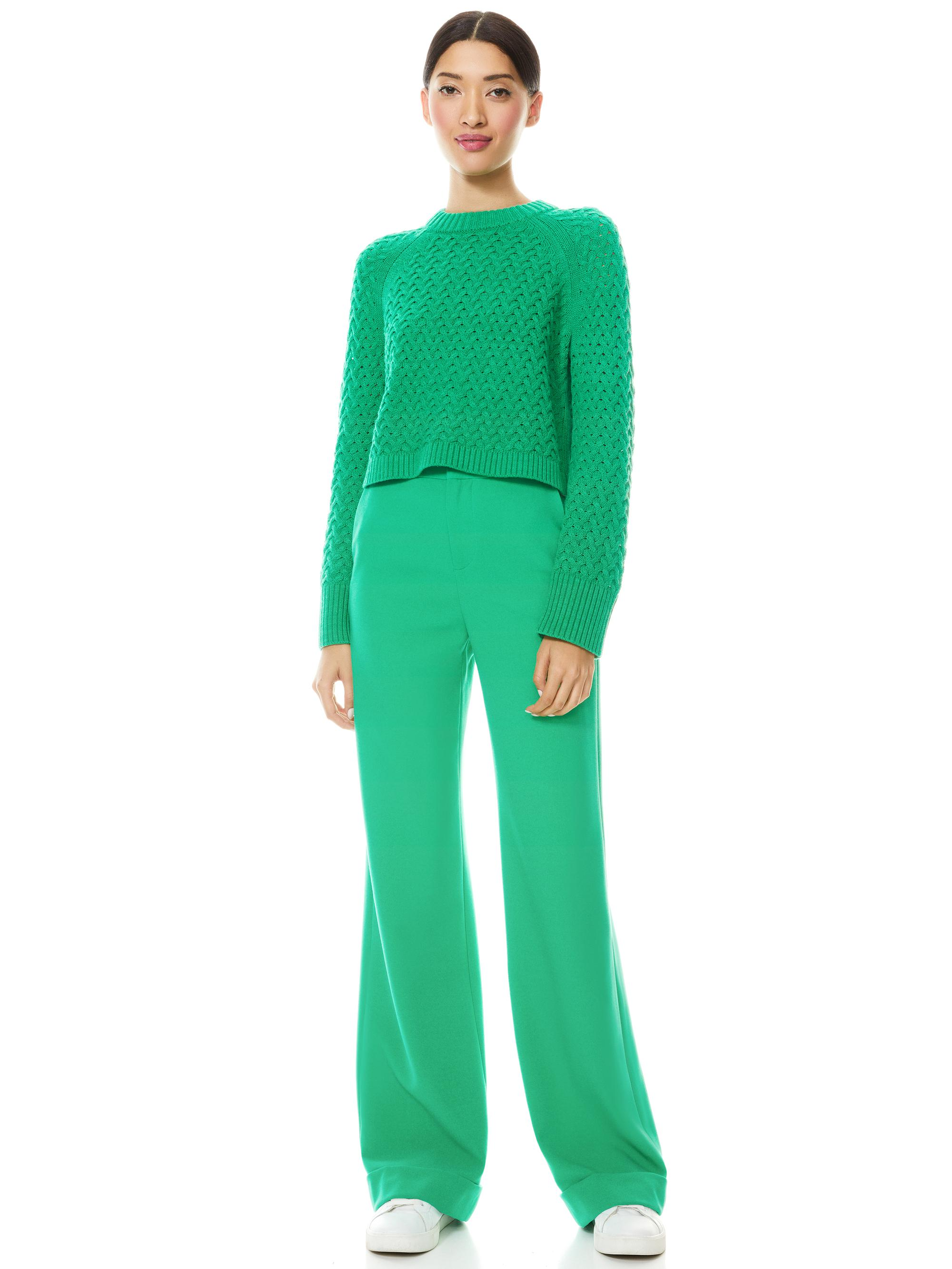 LETA CROPPED PULLOVER 3