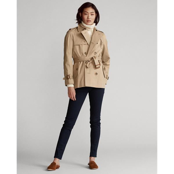Twill Belted Trench Coat