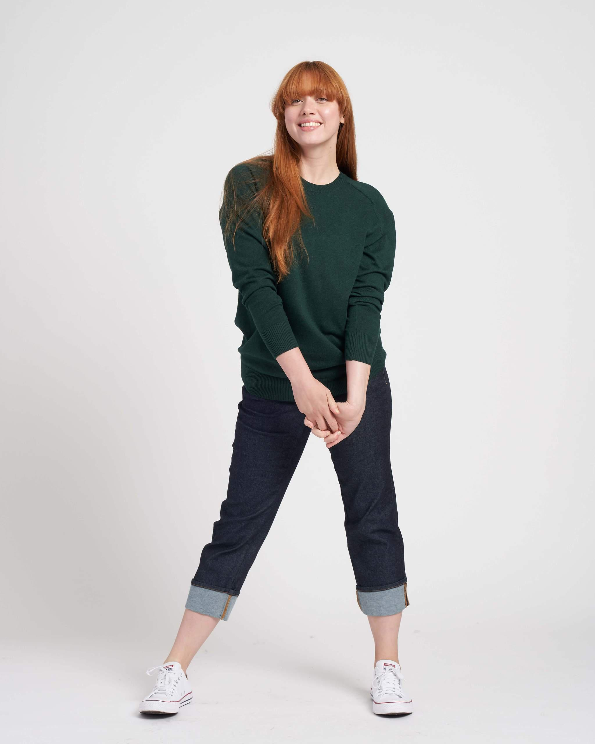 Eco Relaxed Core Sweater 1