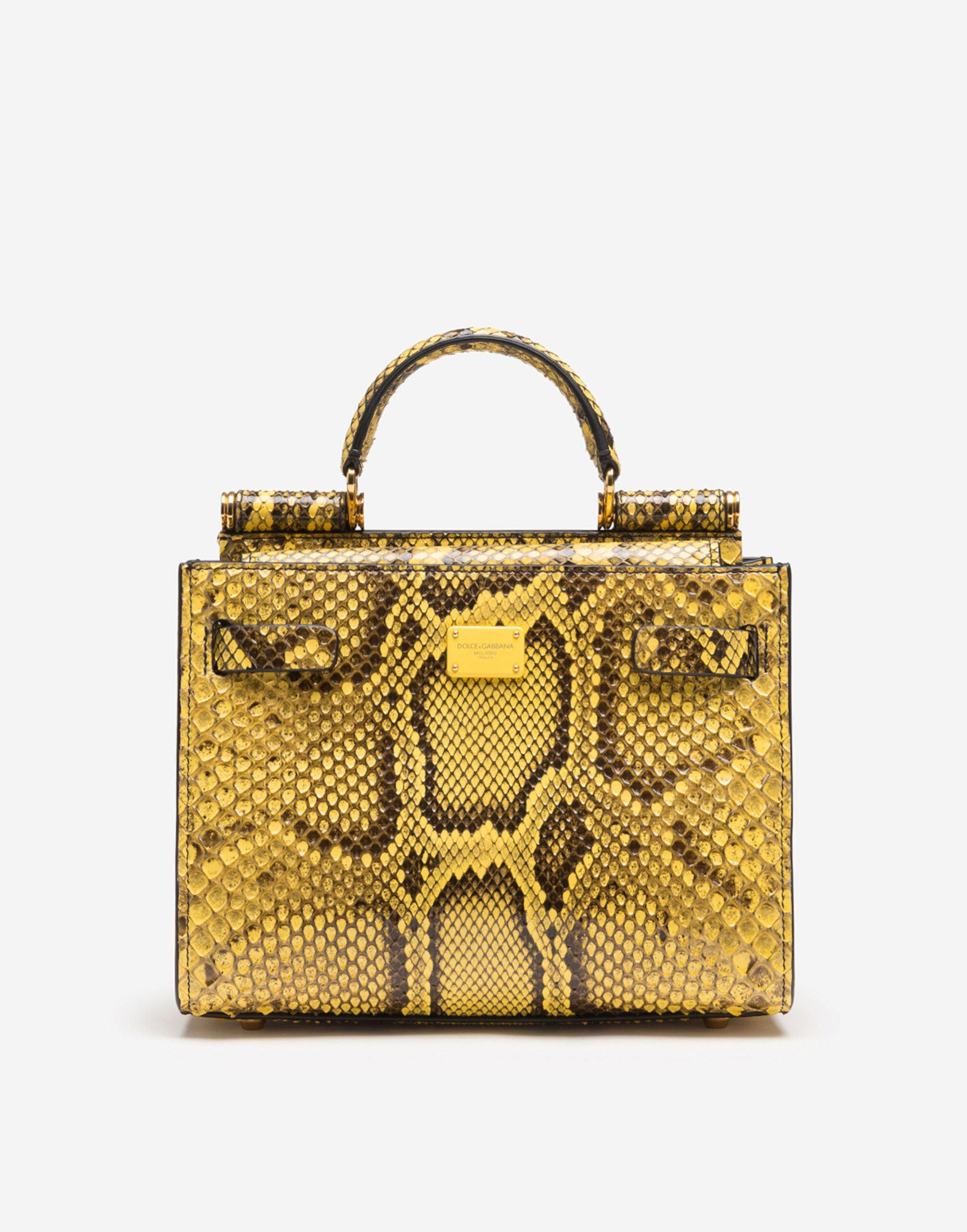 Sicily 62 small bag in python skin