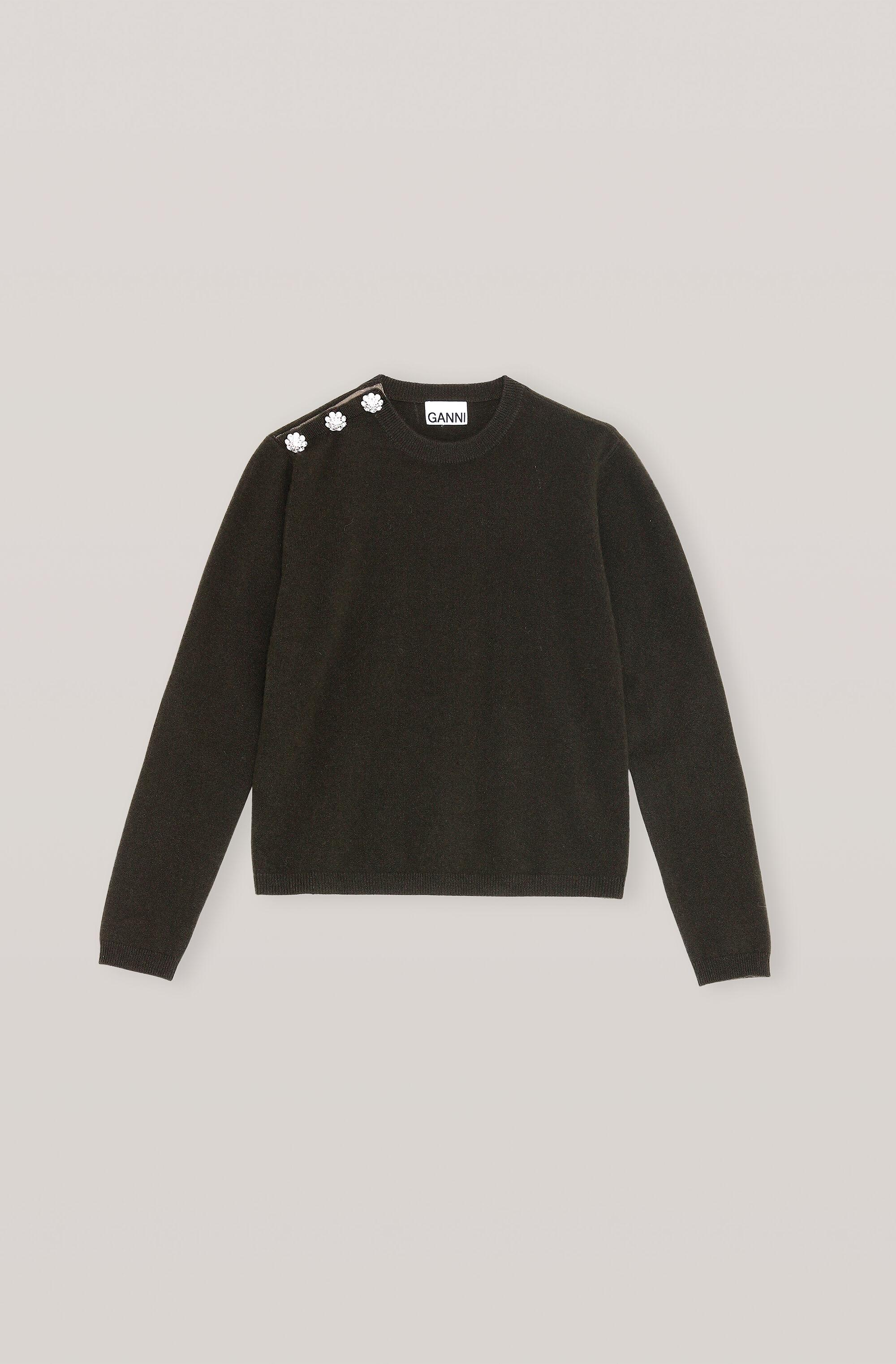 Cashmere Knit Pullover - Solid
